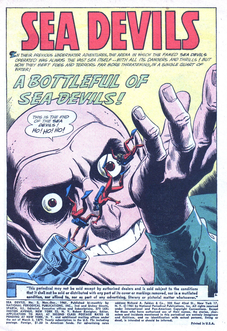 Read online Sea Devils comic -  Issue #2 - 4