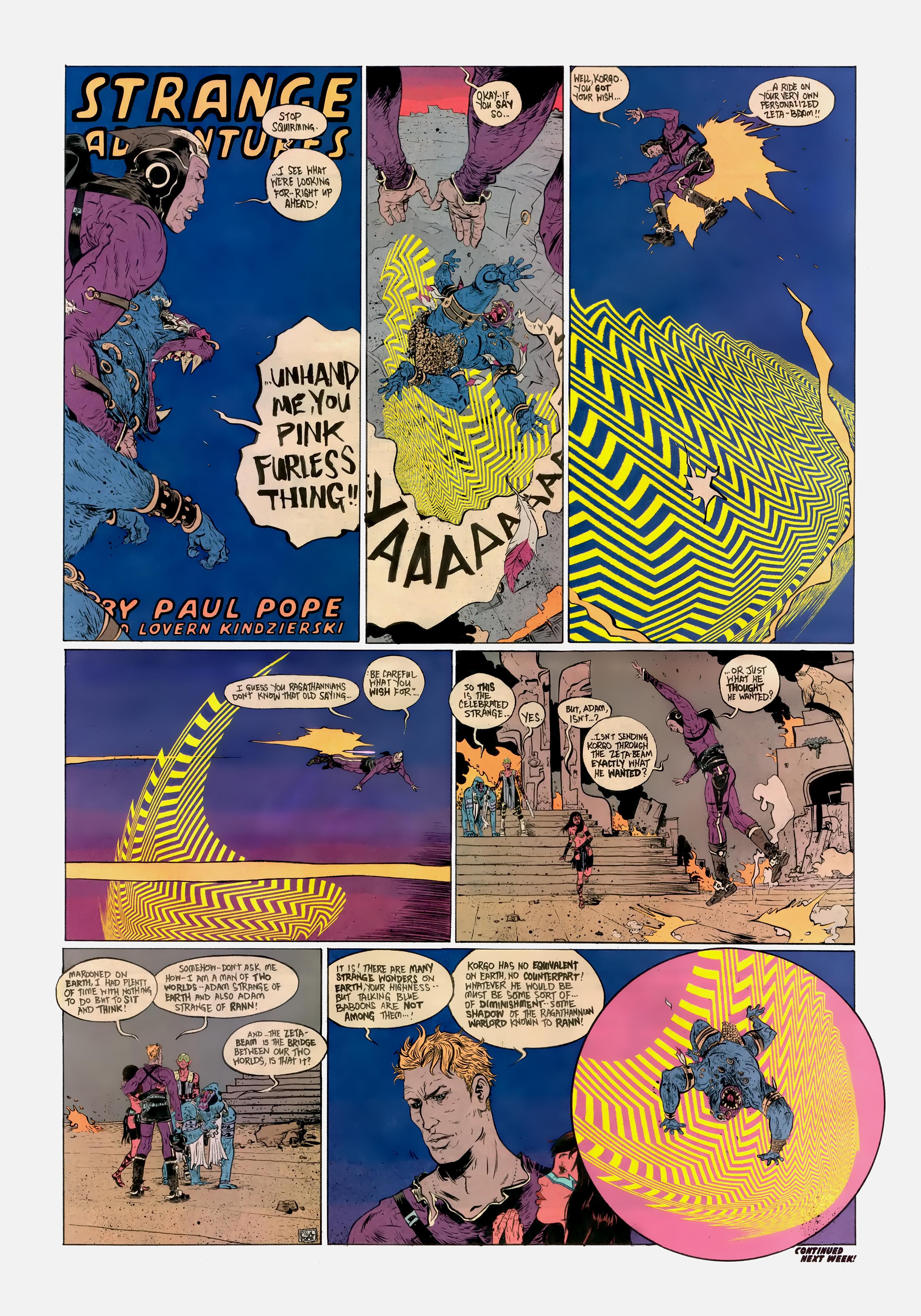 Read online Wednesday Comics comic -  Issue #10 - 10