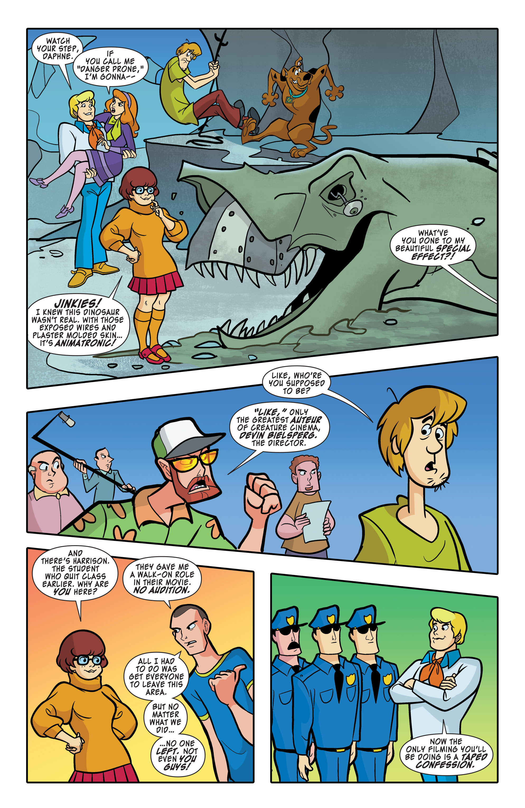 Read online Scooby-Doo: Where Are You? comic -  Issue #63 - 10