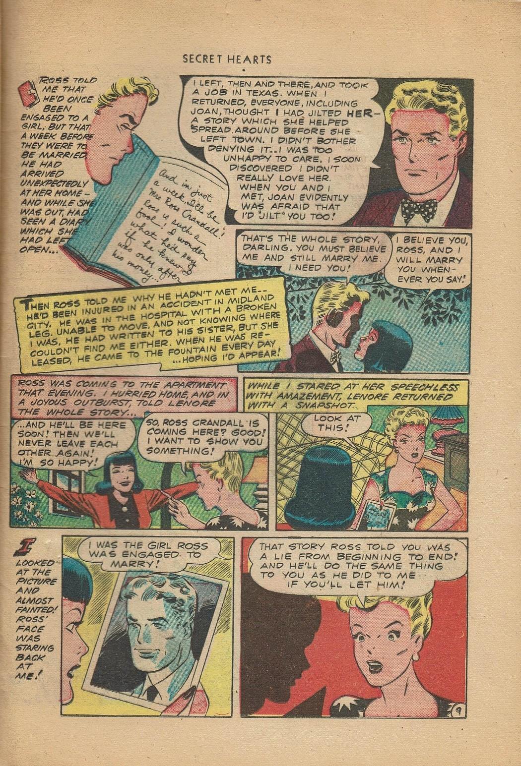 Read online Secret Hearts comic -  Issue #2 - 33
