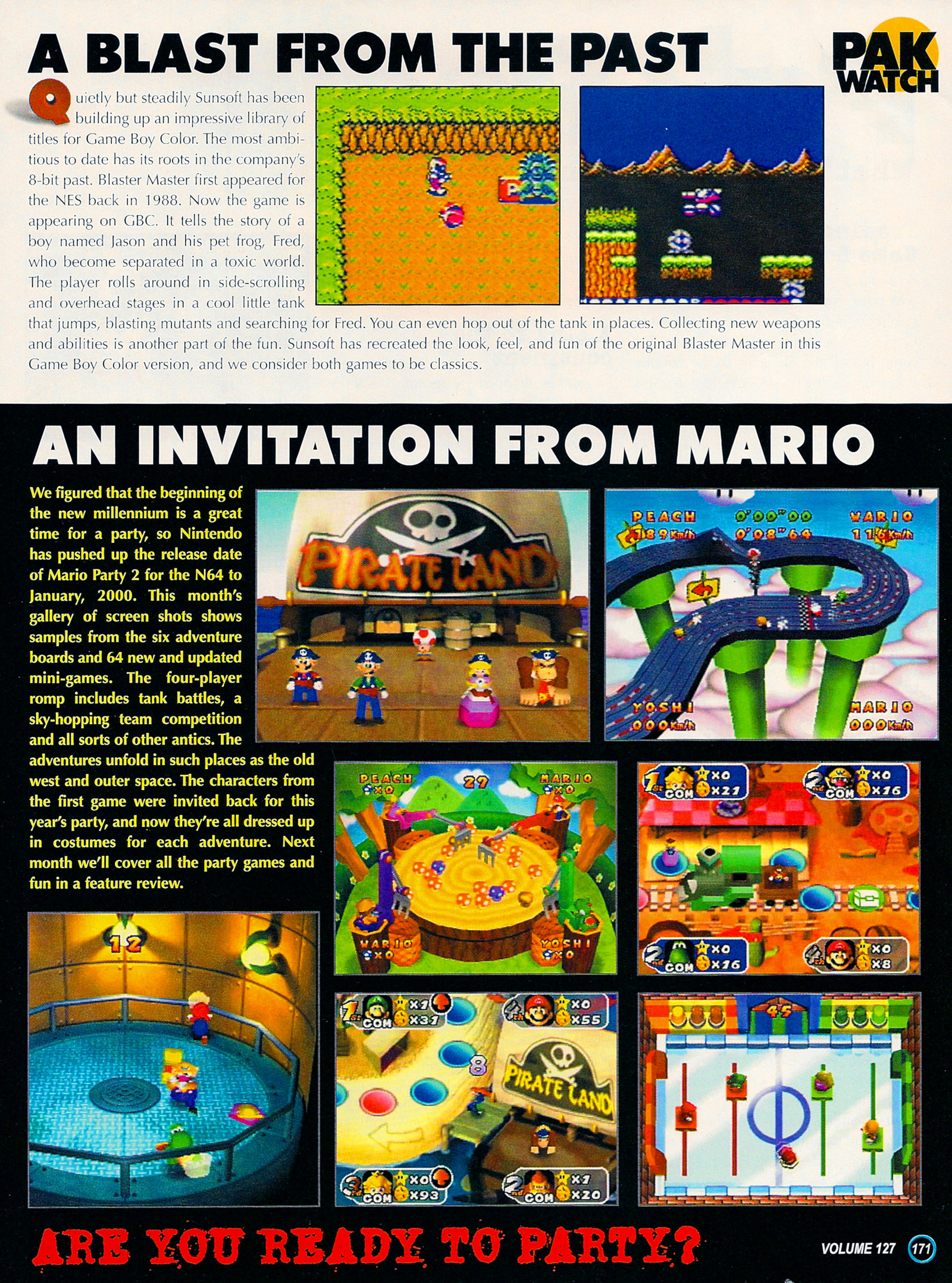 Nintendo Power #127 #127 - English 196