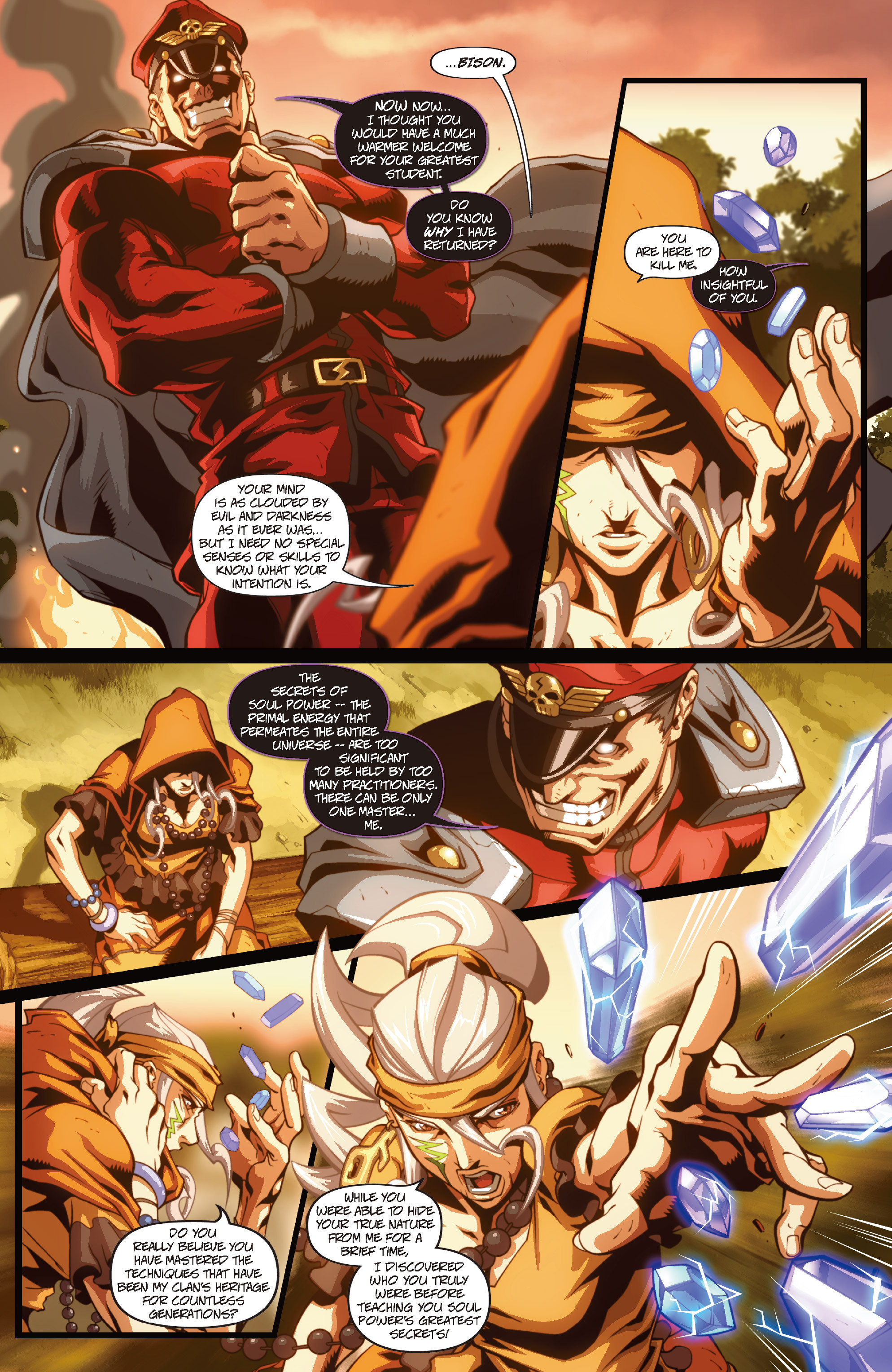 Street Fighter II chap 1 pic 16