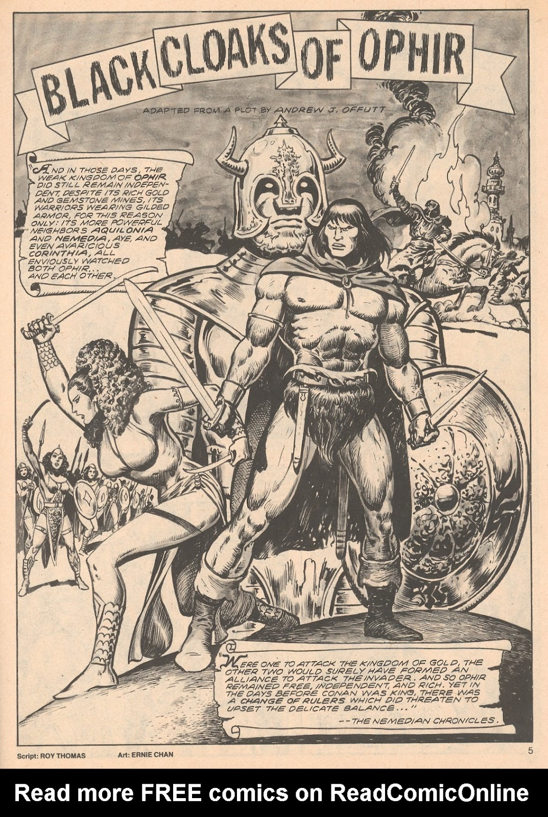The Savage Sword Of Conan Issue #68 #69 - English 5