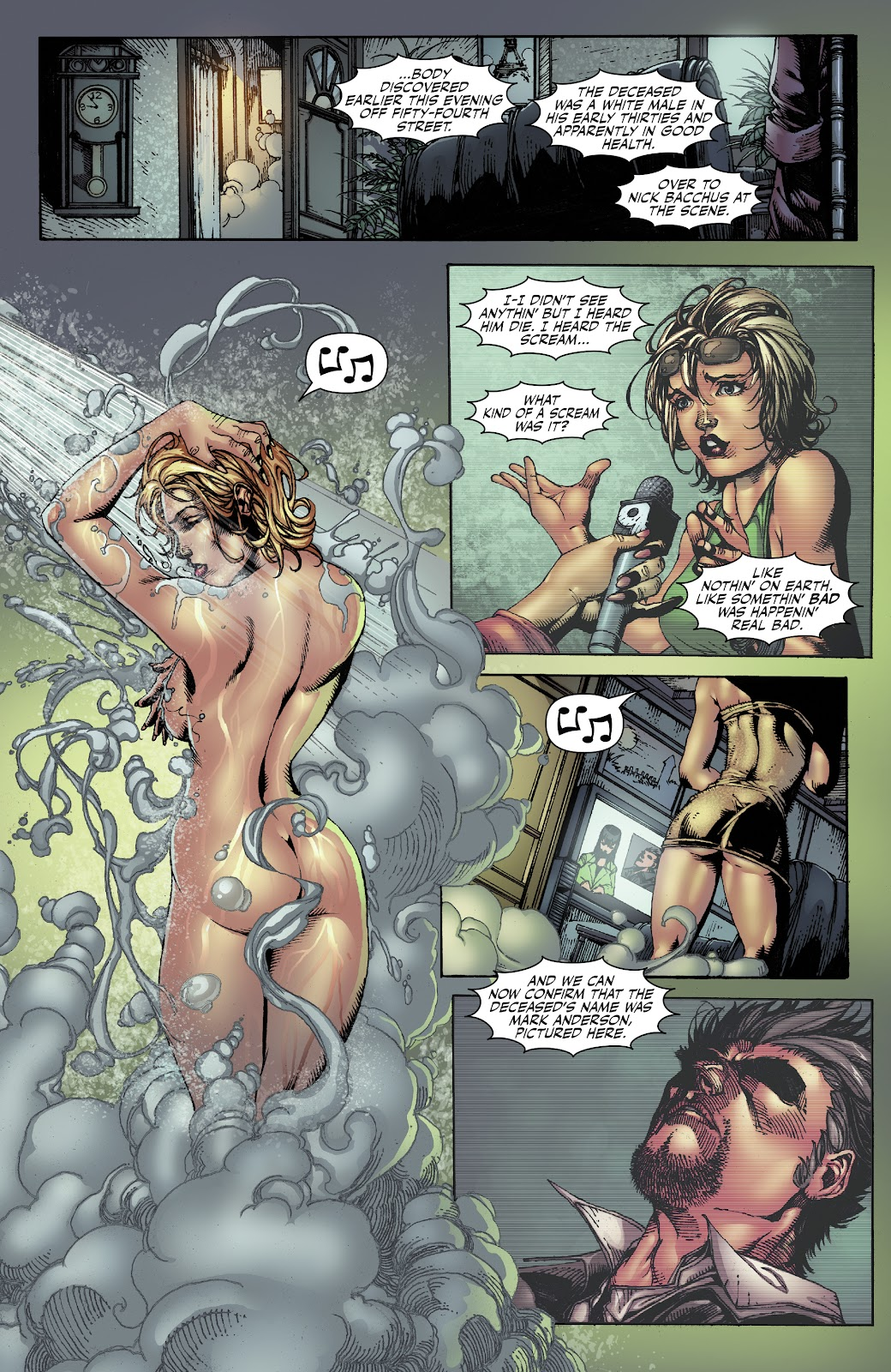 Read online Witchblade: Shades of Gray comic -  Issue #1 - 22