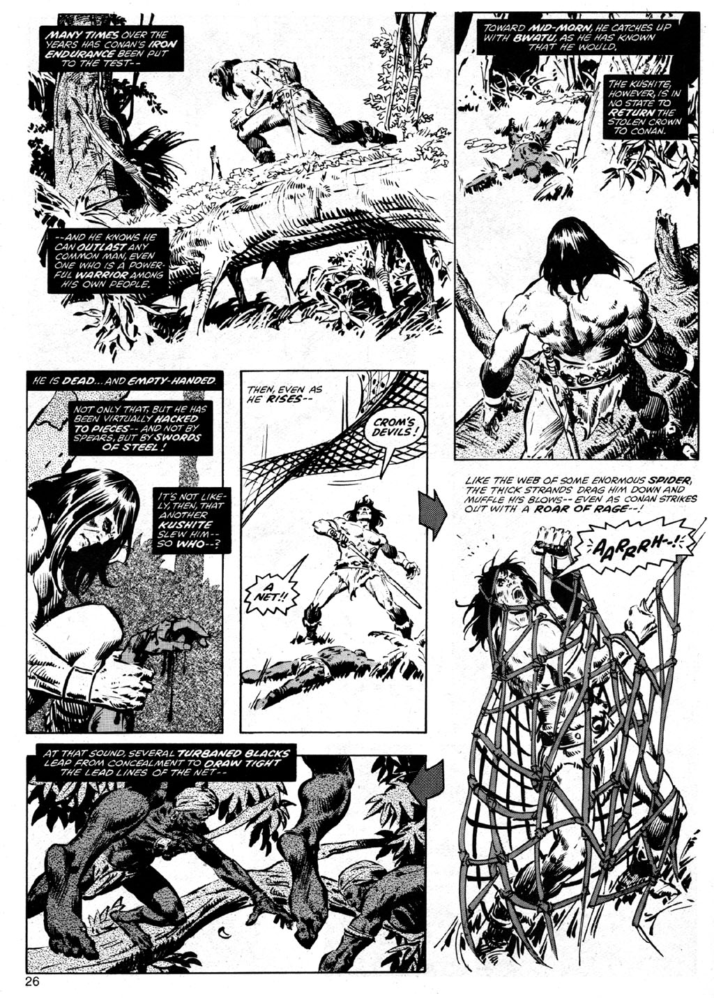 The Savage Sword Of Conan Issue #41 #42 - English 26