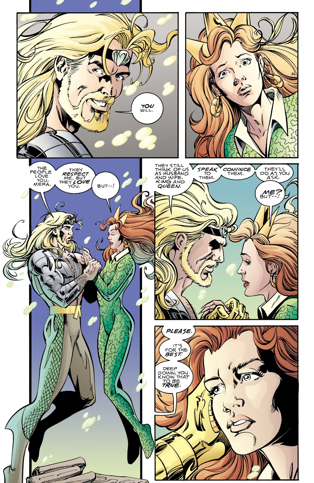 Aquaman (1994) Issue #70 #76 - English 10
