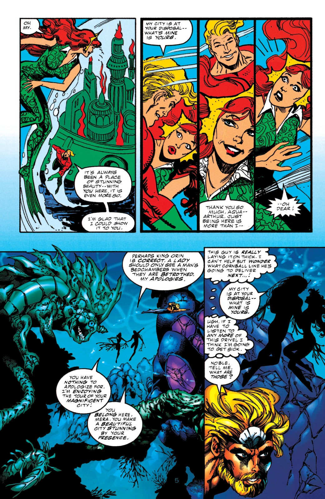 Aquaman (1994) Issue #52 #58 - English 5