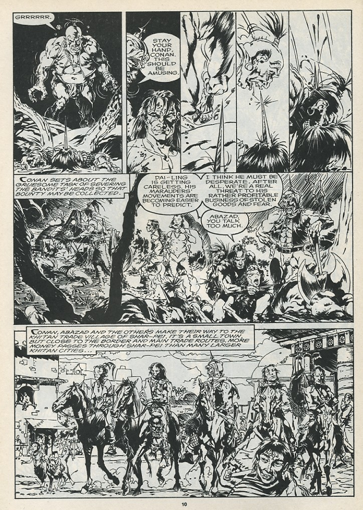 The Savage Sword Of Conan Issue #175 #176 - English 12