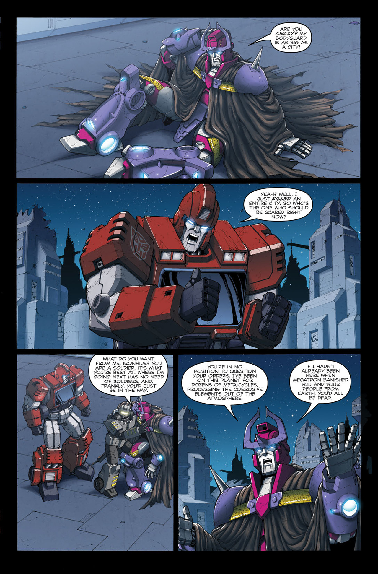 Read online The Transformers: Ironhide comic -  Issue #4 - 20