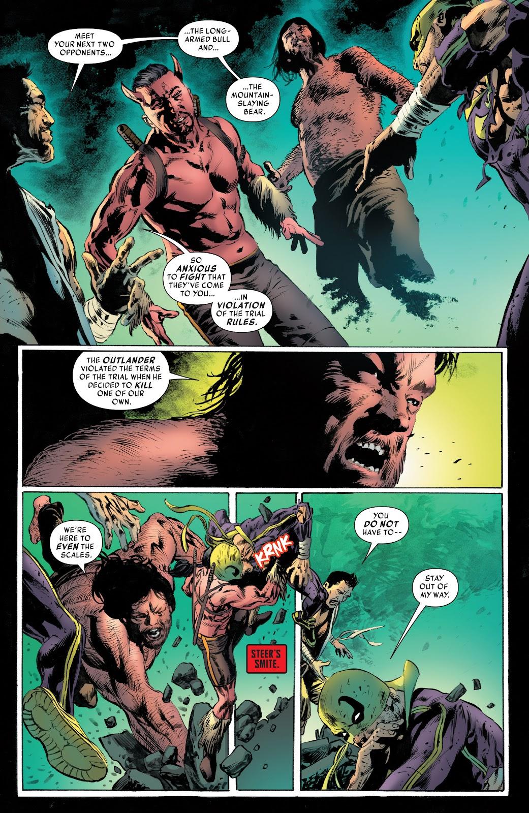 Iron Fist (2017) Issue #4 #4 - English 19
