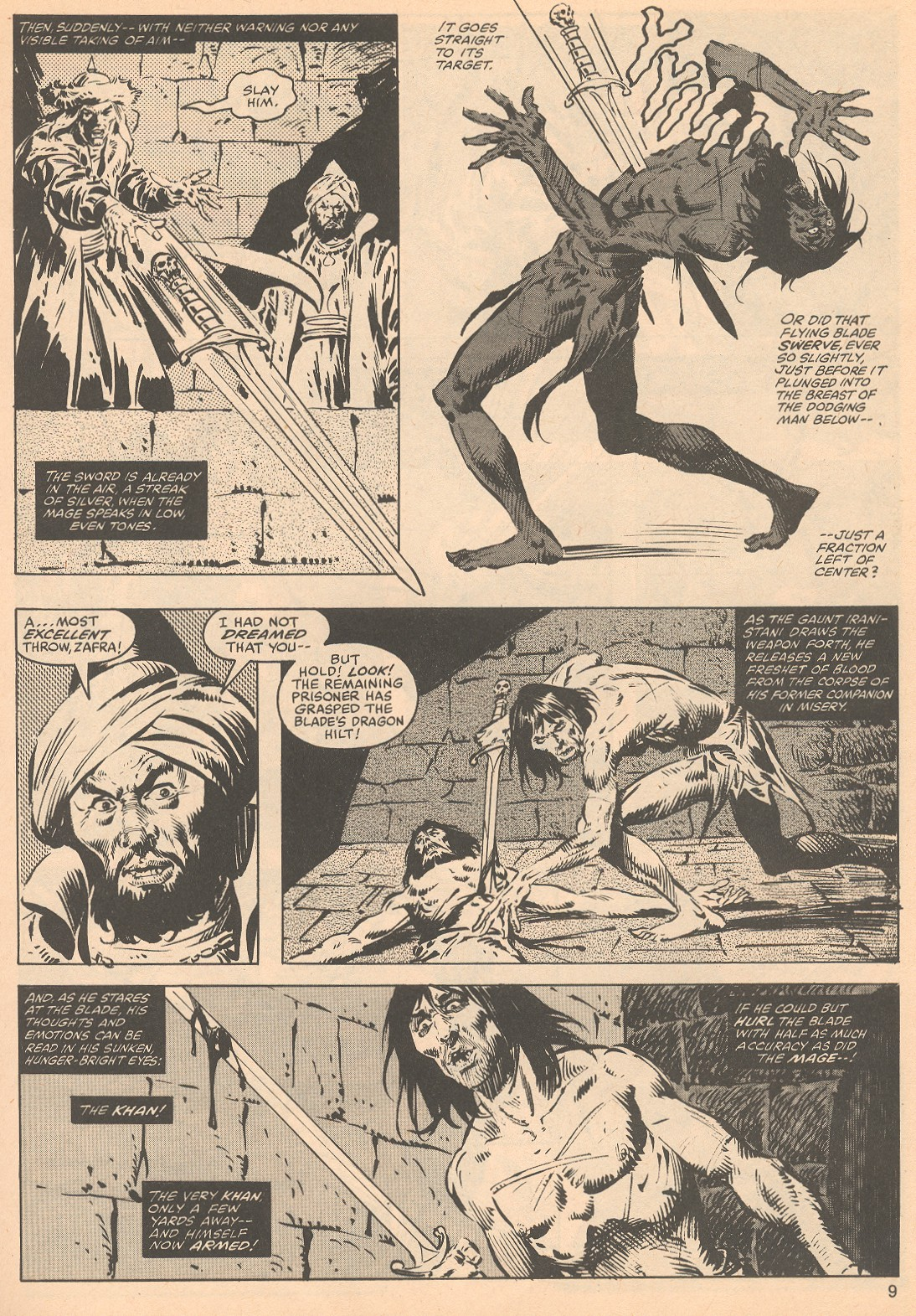 The Savage Sword Of Conan Issue #56 #57 - English 9