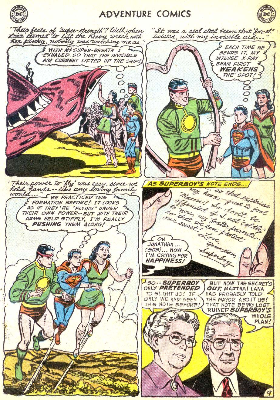 Read online Adventure Comics (1938) comic -  Issue #218 - 11