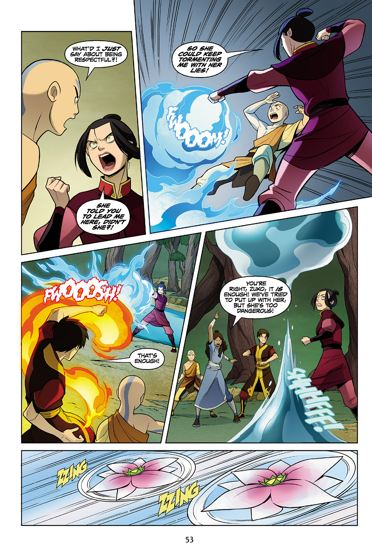 Read online Nickelodeon Avatar: The Last Airbender - The Search comic -  Issue # Part 2 - 54