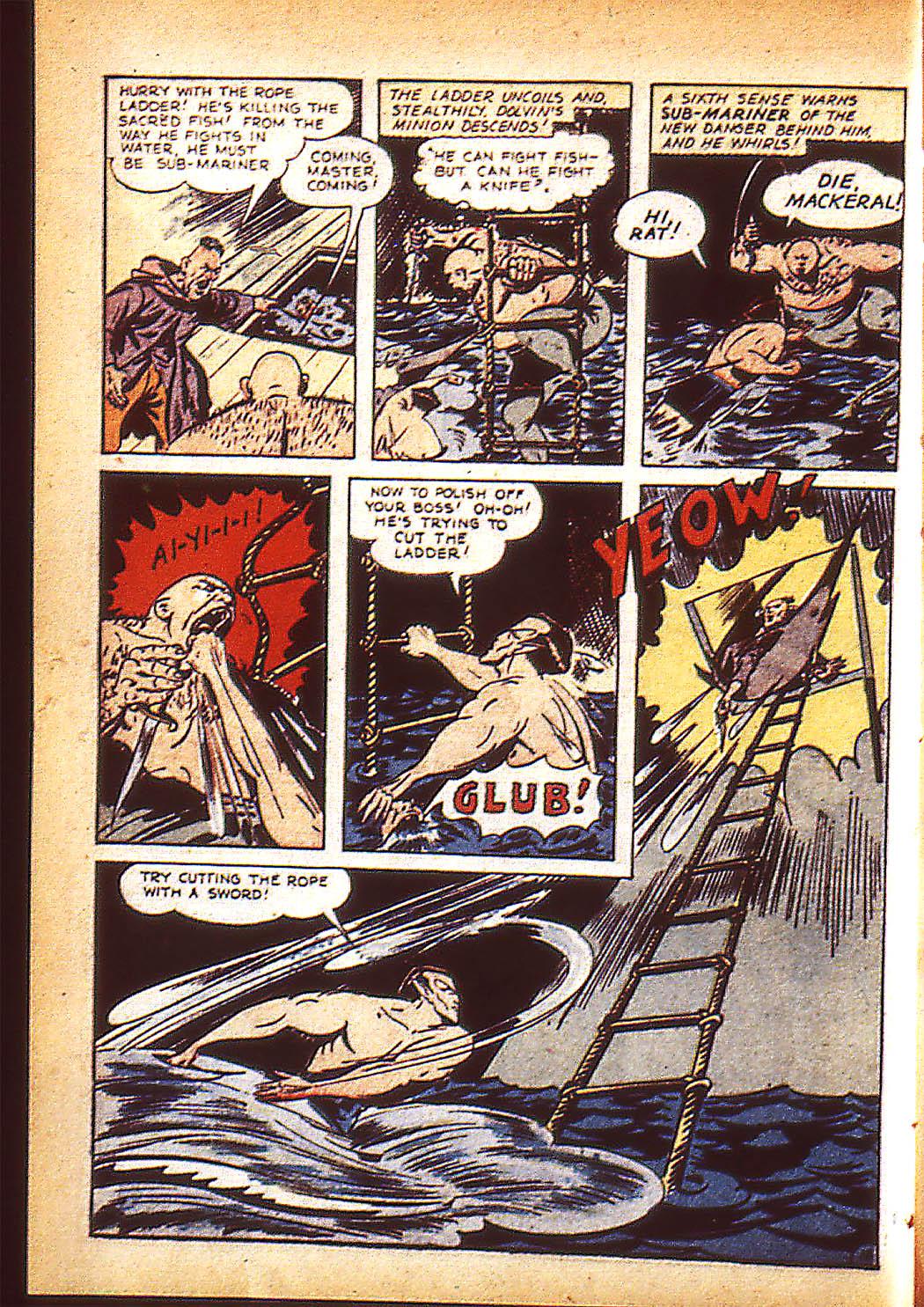 Sub-Mariner Comics Issue #10 #10 - English 13