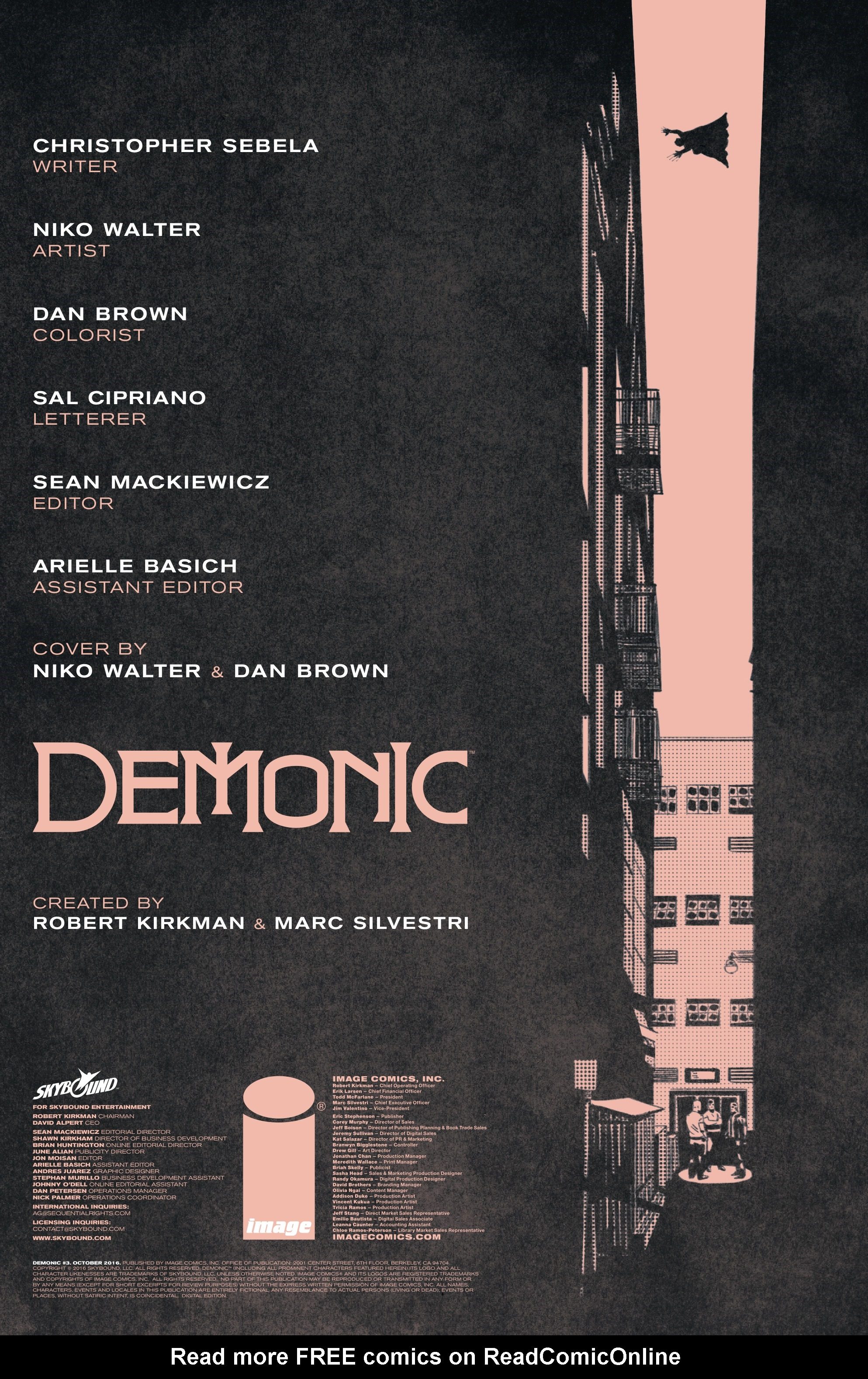 Read online Demonic comic -  Issue #3 - 2