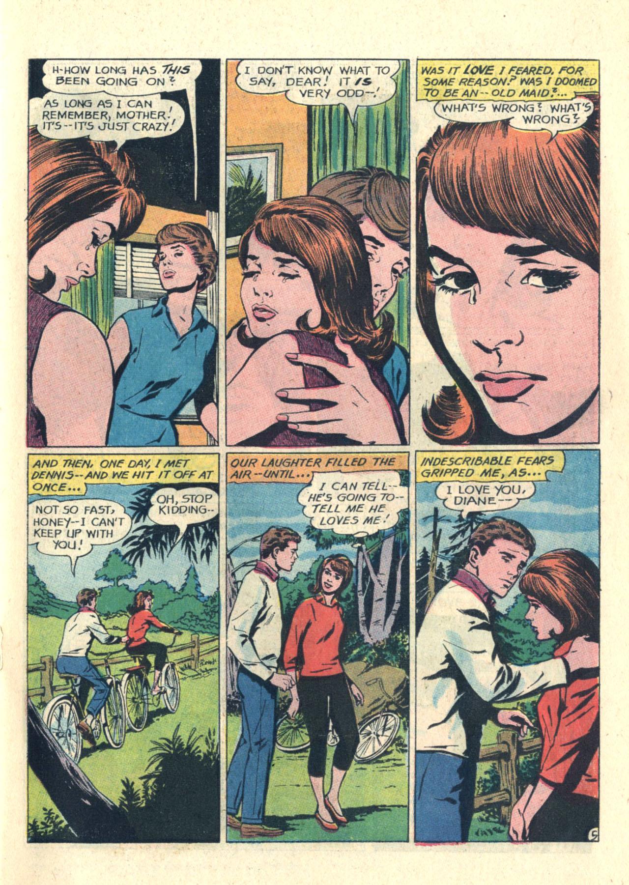 Read online Secret Hearts comic -  Issue #112 - 7