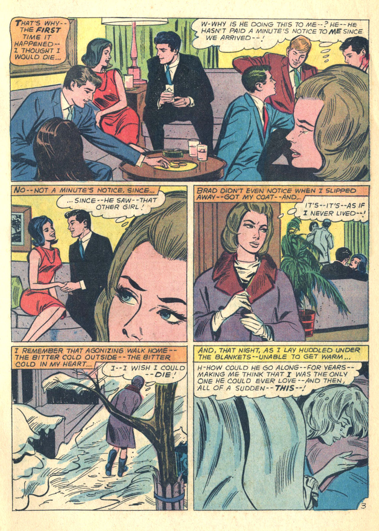 Read online Secret Hearts comic -  Issue #110 - 5