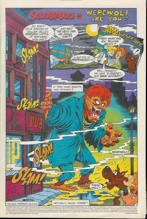 Read online Scooby-Doo (1995) comic -  Issue #9 - 3