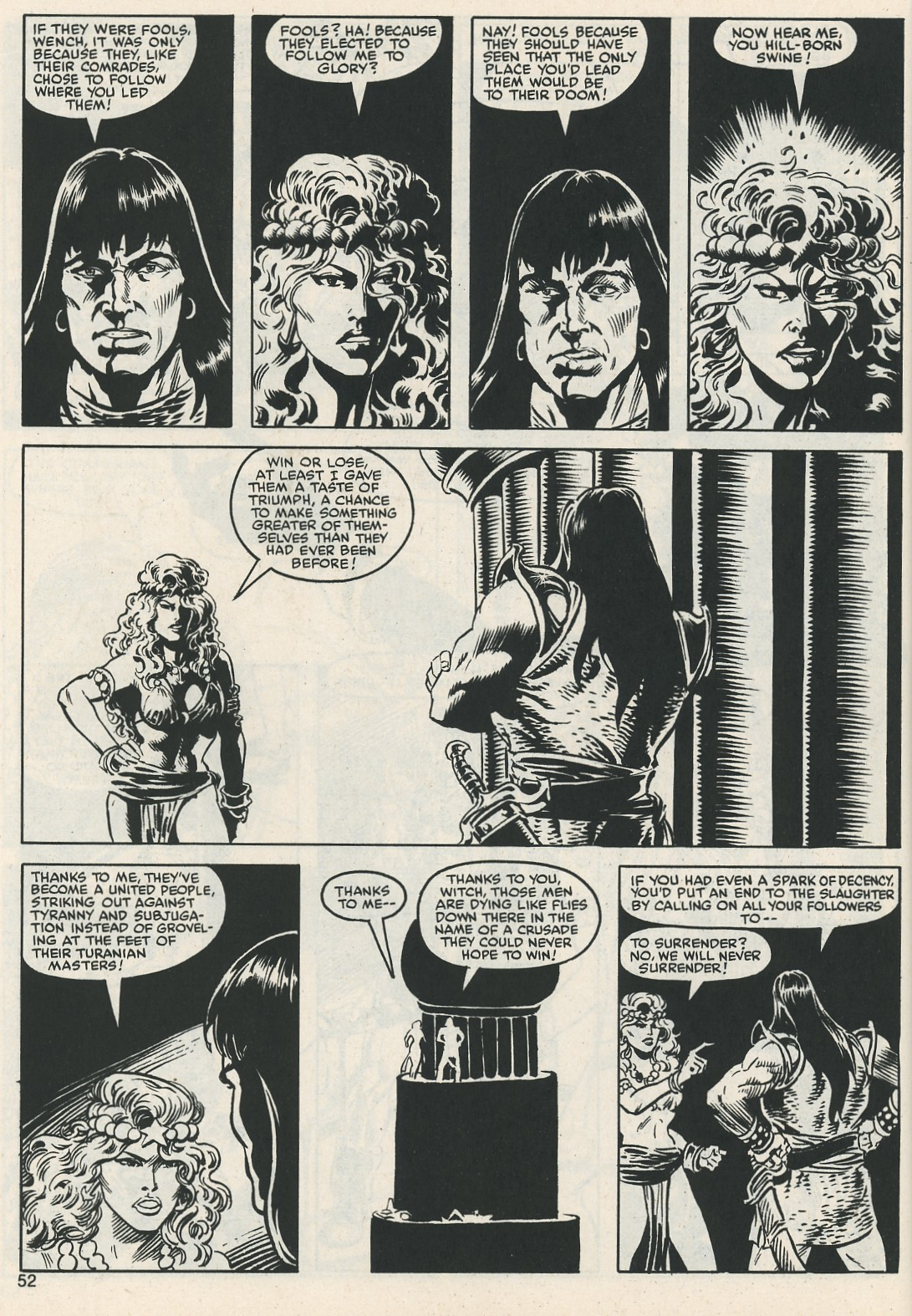 The Savage Sword Of Conan Issue #112 #113 - English 54