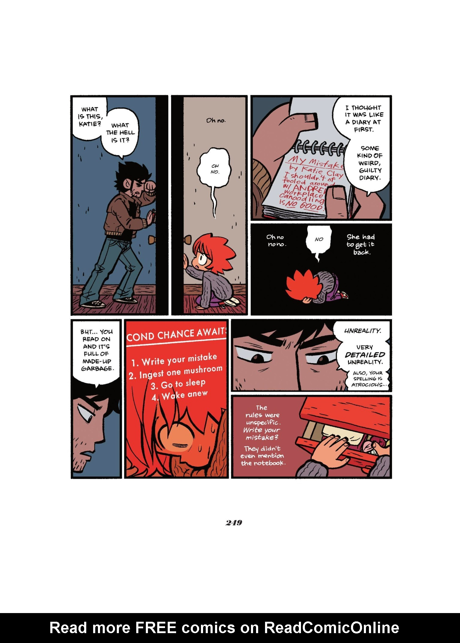 Read online Seconds comic -  Issue # Full - 249