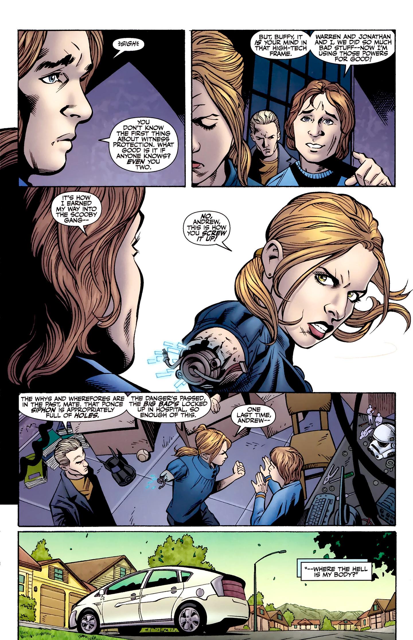 Read online Buffy the Vampire Slayer Season Nine comic -  Issue #8 - 14