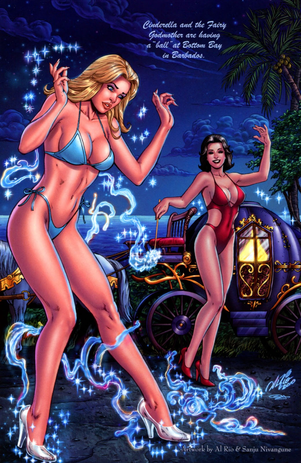 Grimm Fairy Tales: Swimsuit Edition Full #1 - English 7