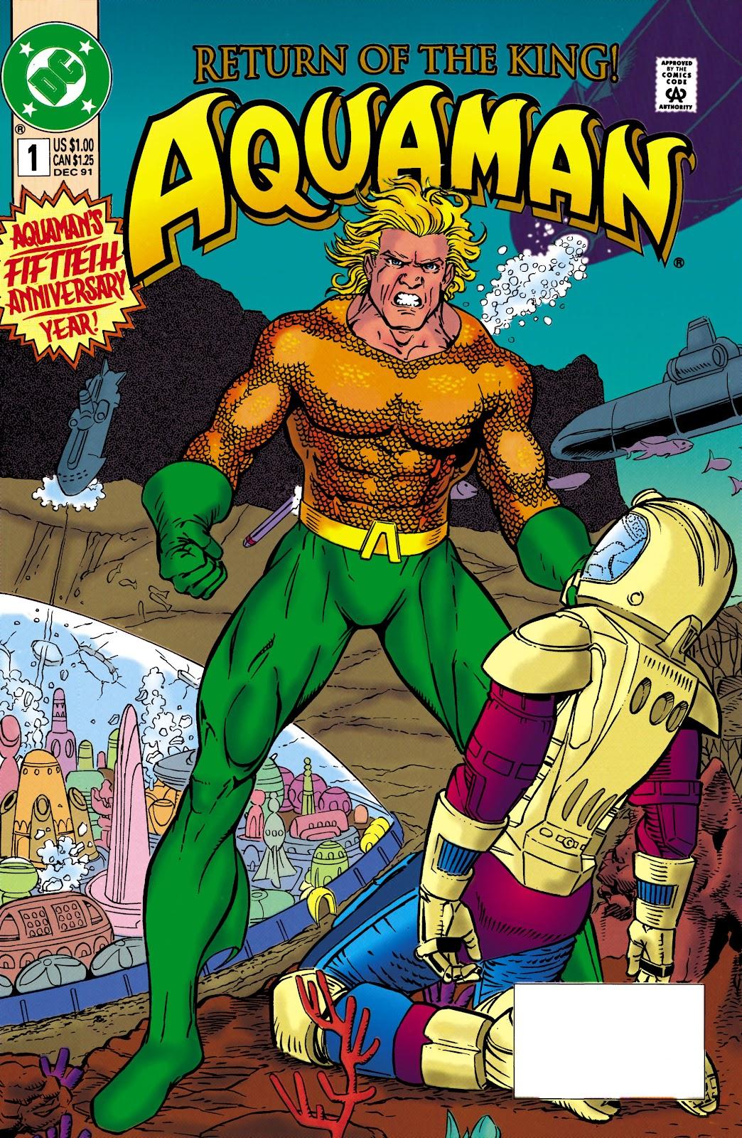 Aquaman (1991) Issue #1 #1 - English 1