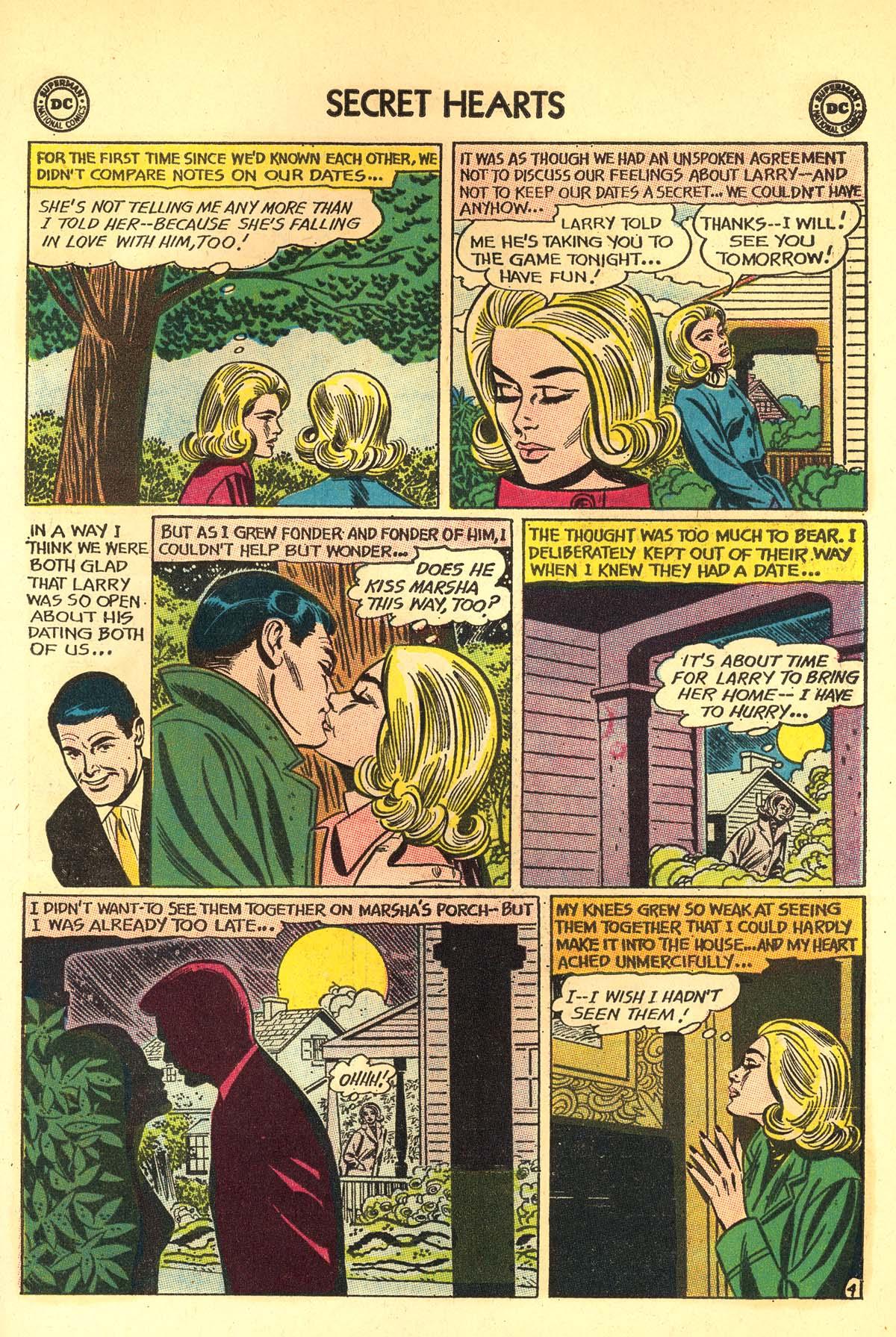 Read online Secret Hearts comic -  Issue #89 - 23