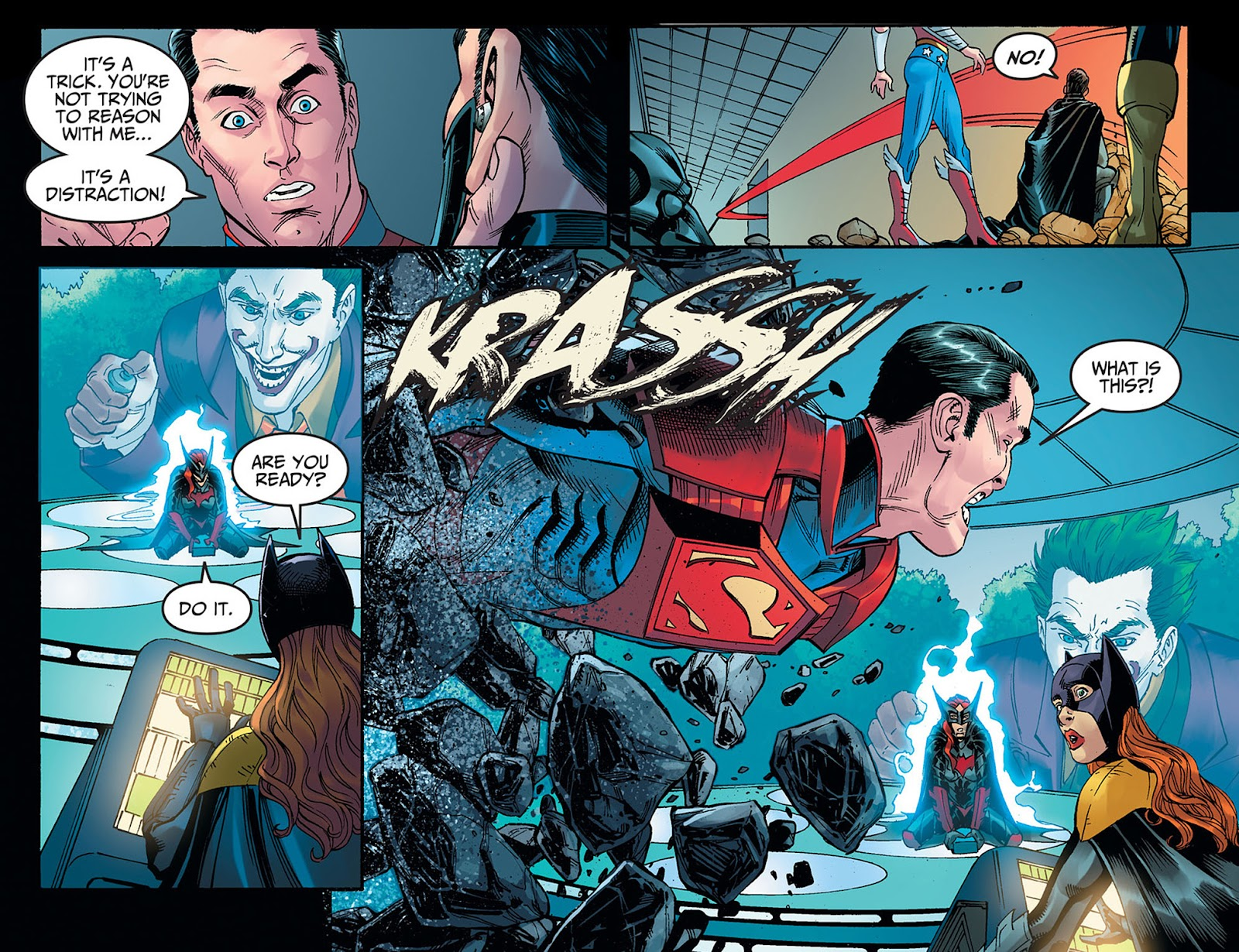 Injustice: Gods Among Us: Year Five Issue #40 #41 - English 15