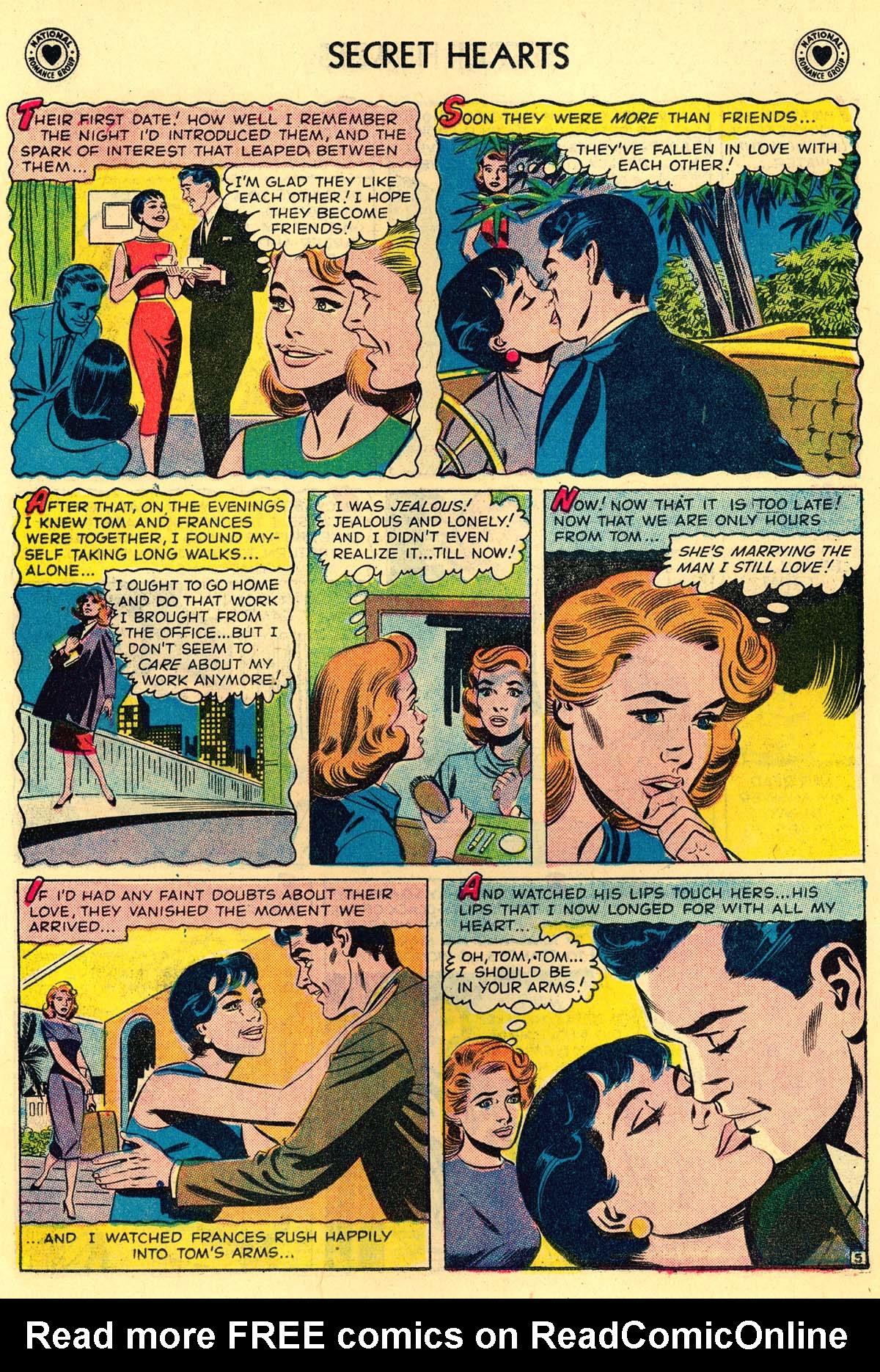 Read online Secret Hearts comic -  Issue #43 - 14