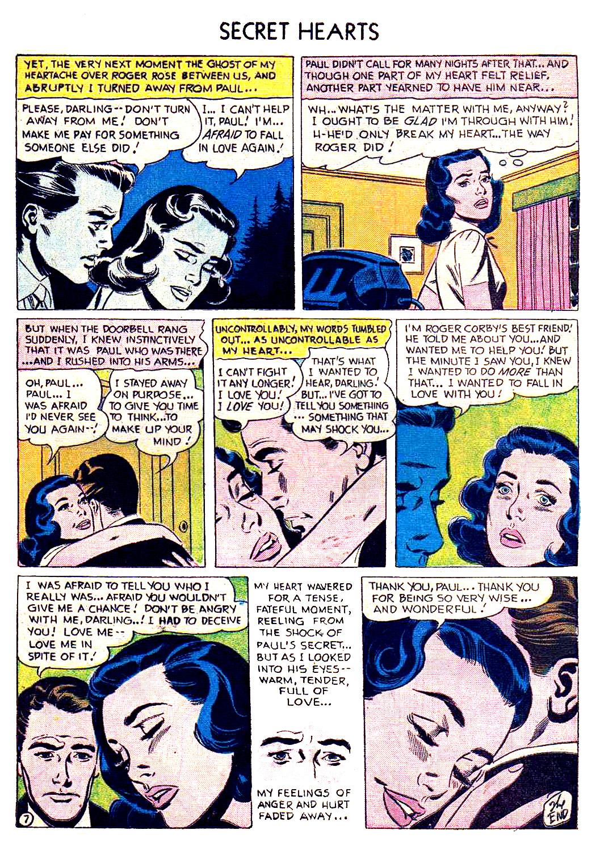 Read online Secret Hearts comic -  Issue #41 - 9