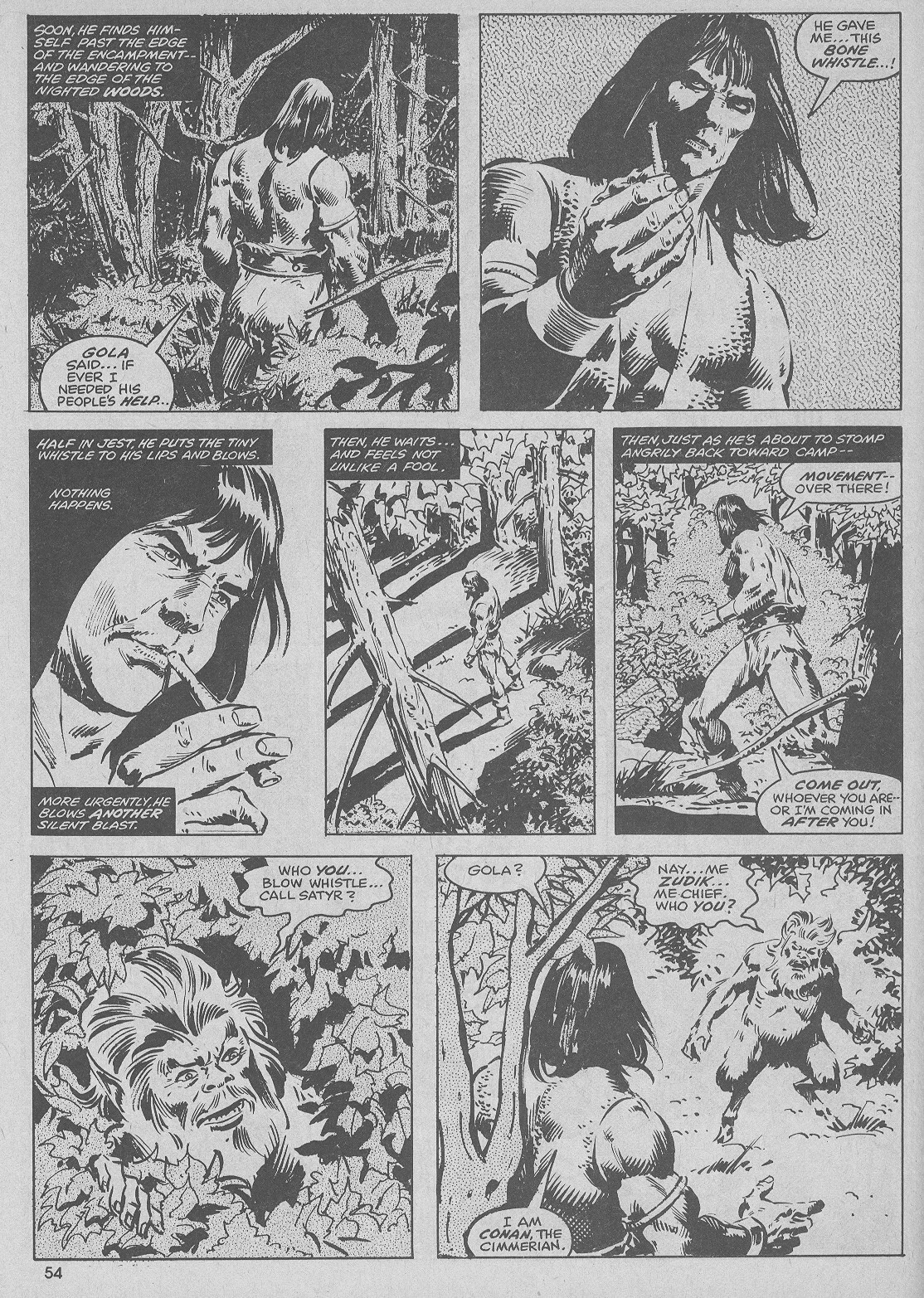 The Savage Sword Of Conan Issue #51 #52 - English 54