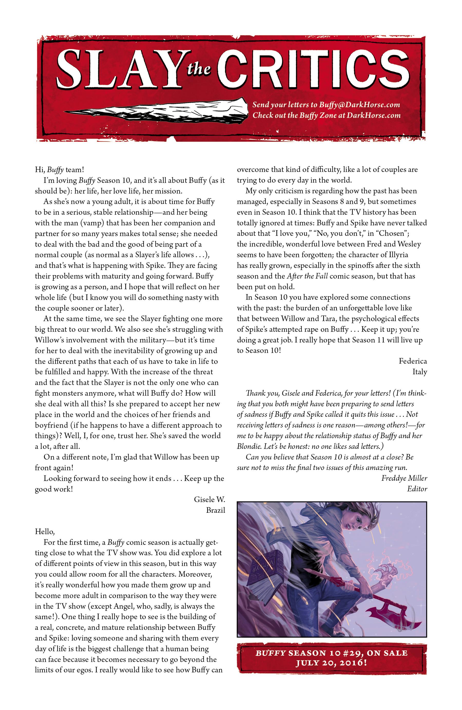 Buffy the Vampire Slayer Season Ten 28 Page 25
