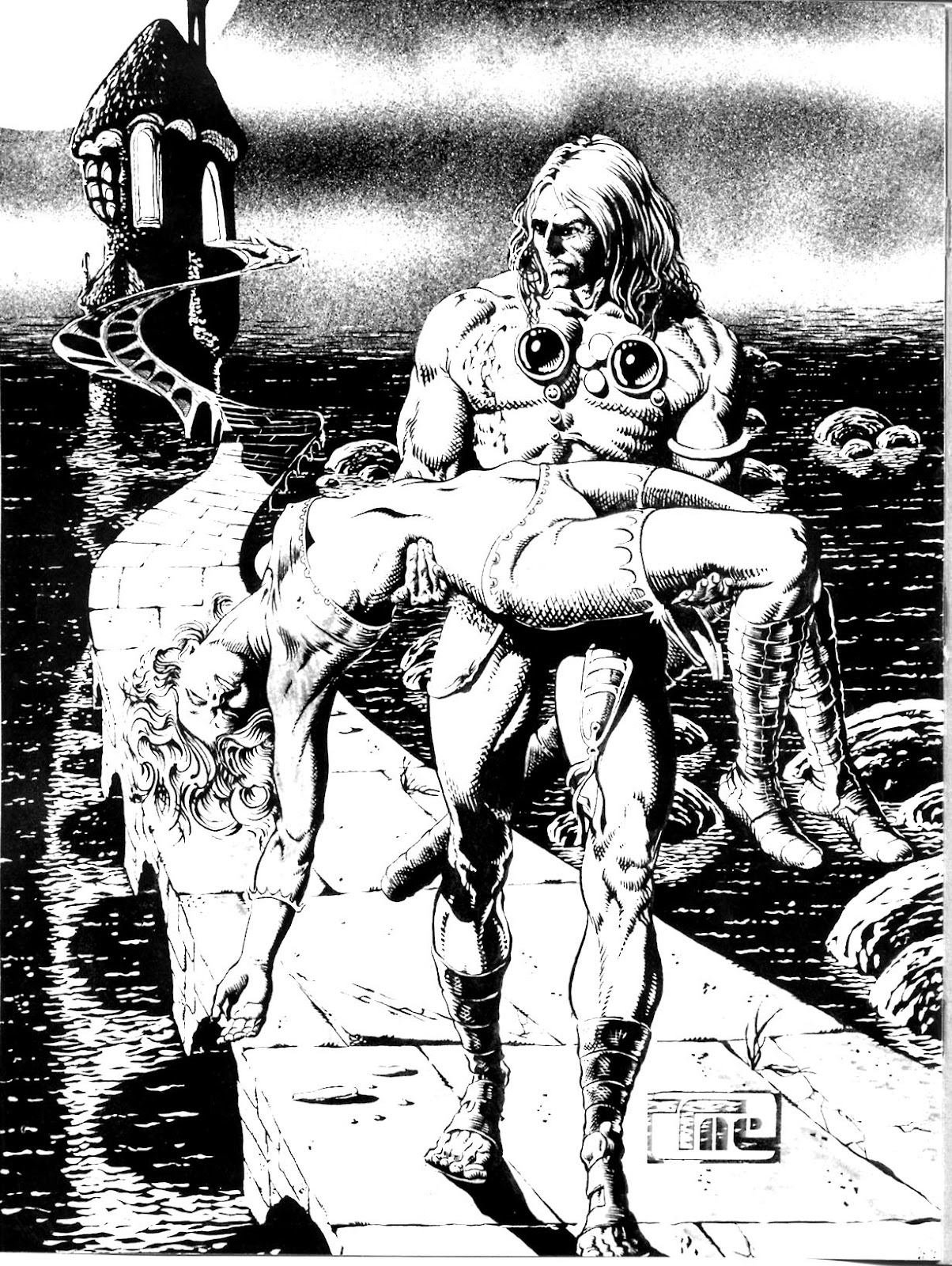 The Savage Sword Of Conan Issue #10 #11 - English 2
