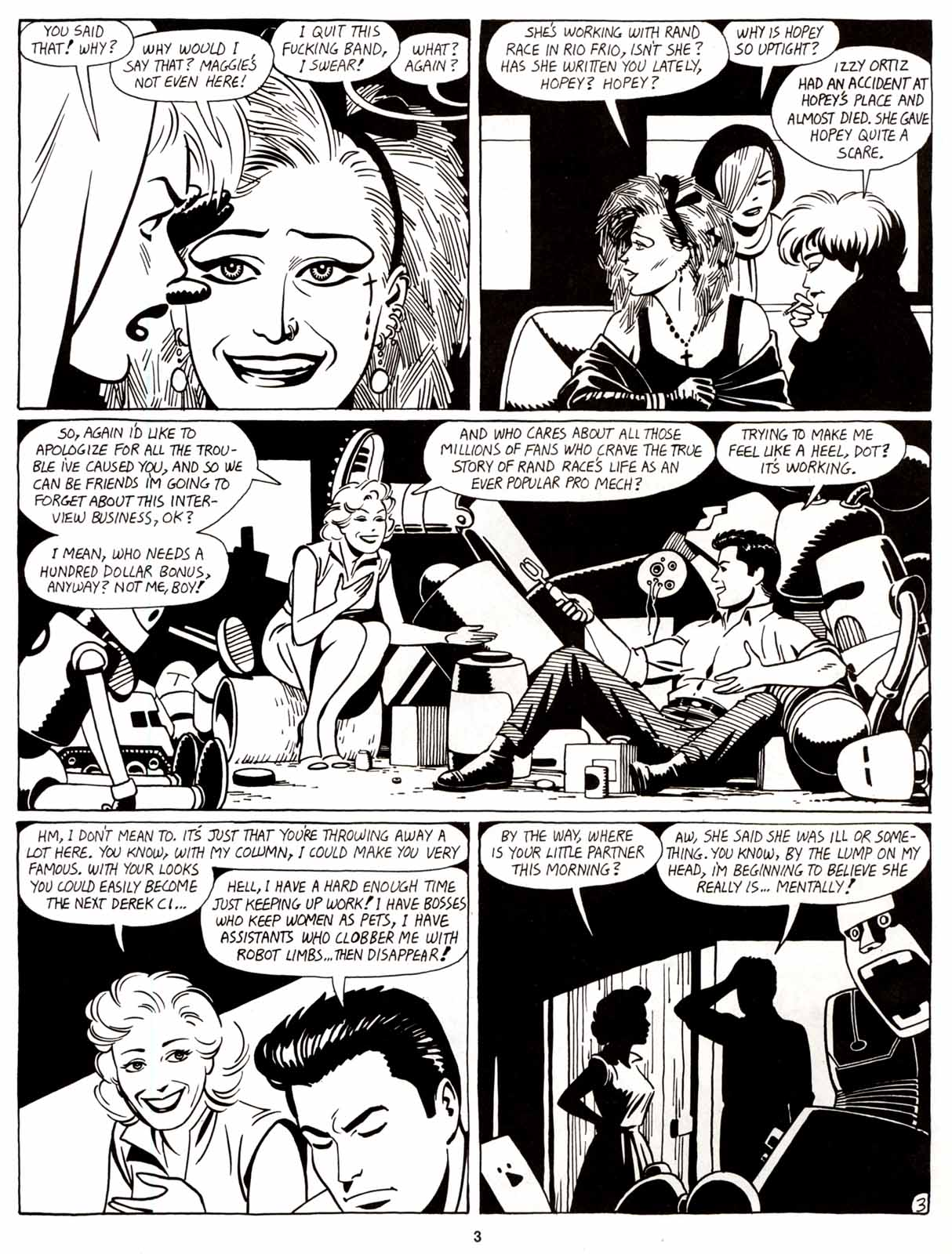 Love and Rockets (1982) Issue #8 #7 - English 5
