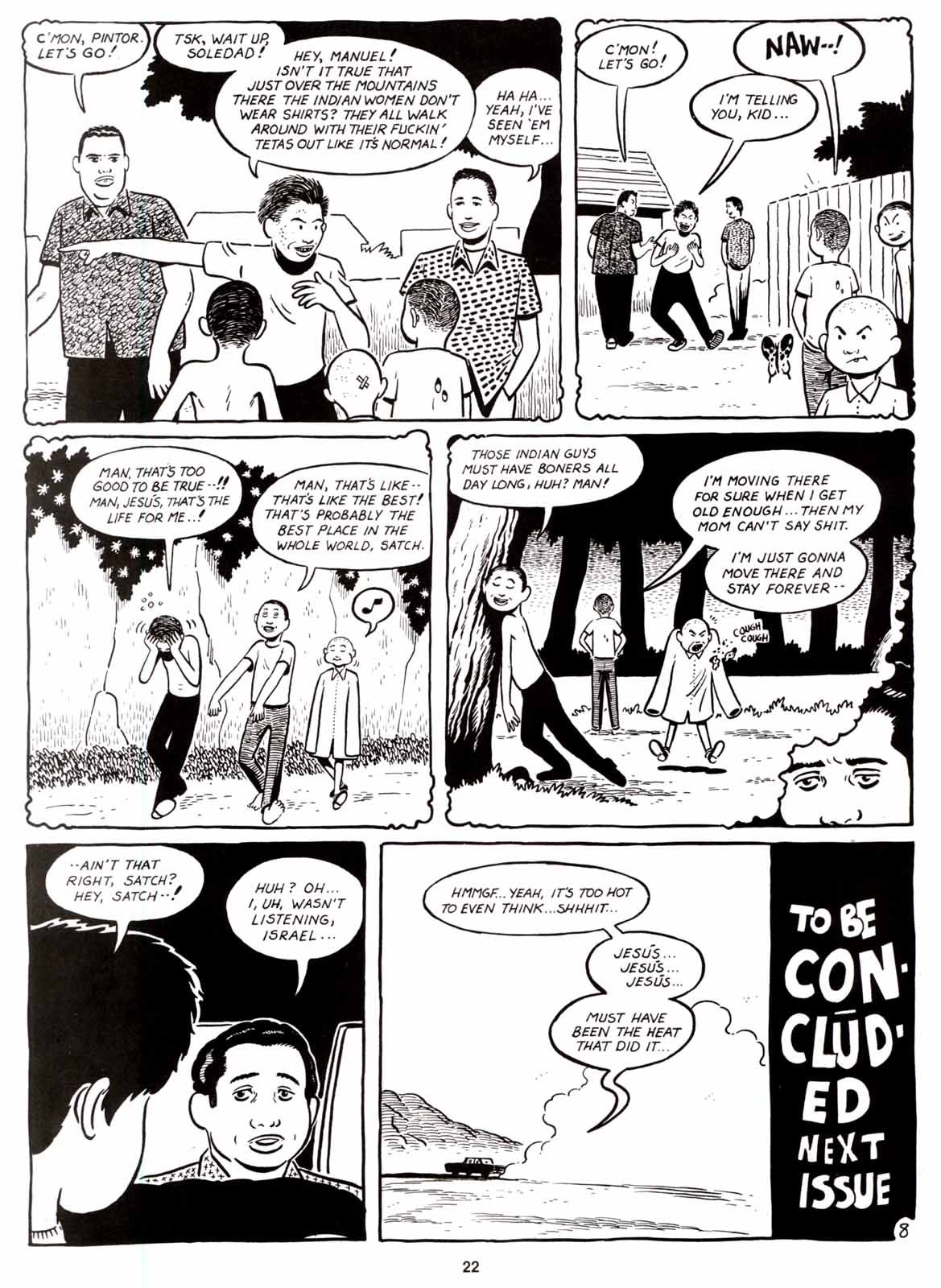 Love and Rockets (1982) Issue #8 #7 - English 24