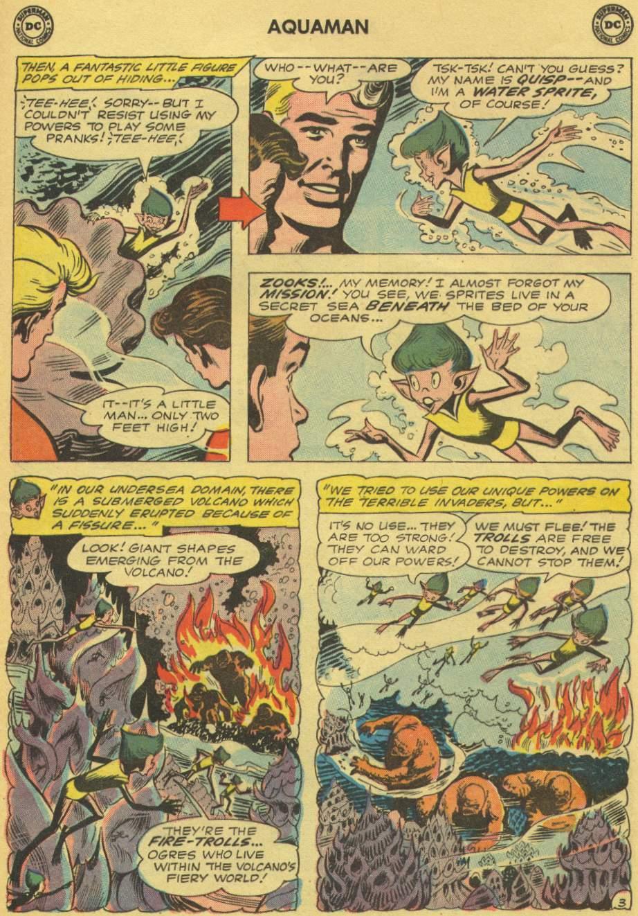 Read online Aquaman (1962) comic -  Issue #1 - 5