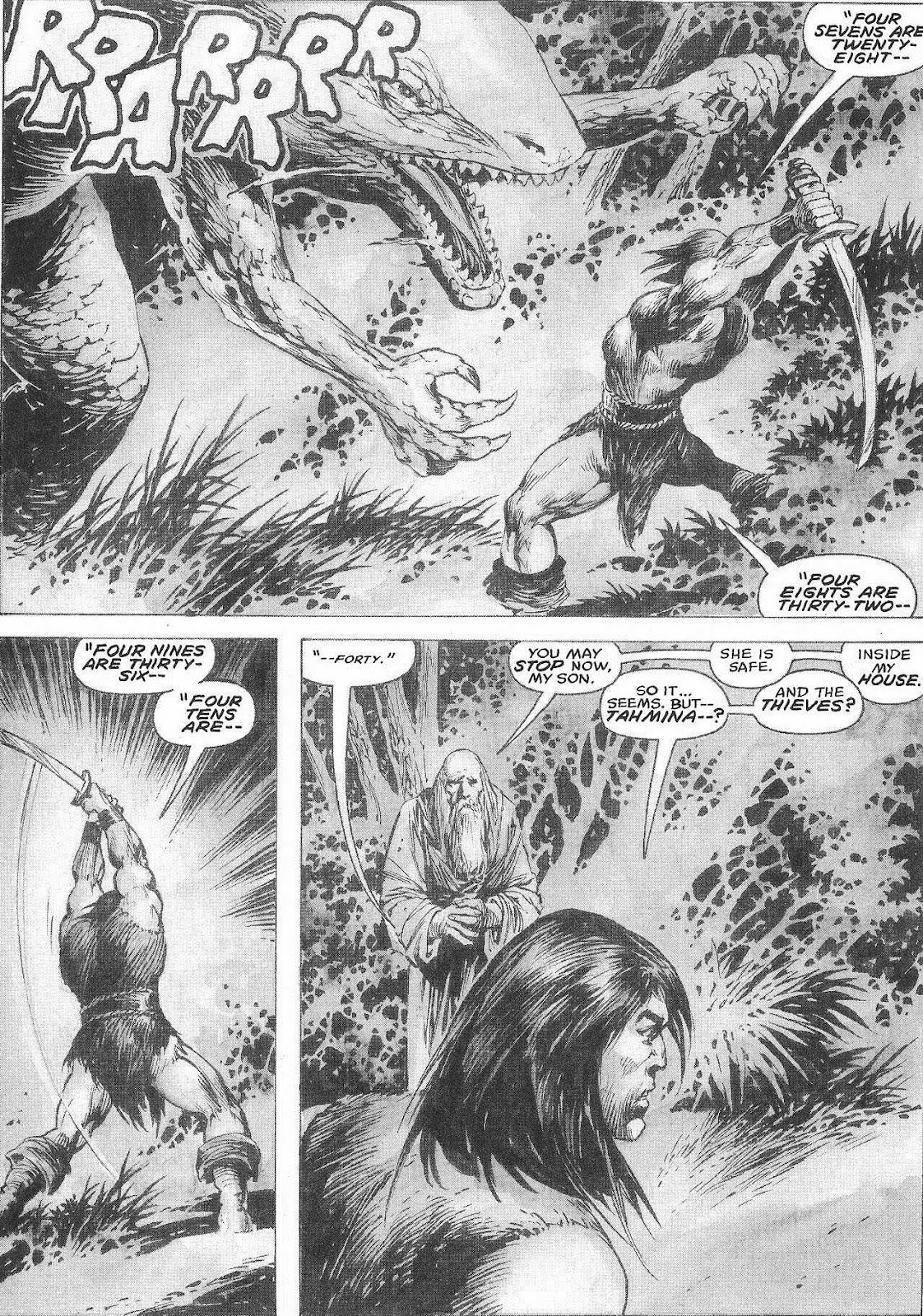 The Savage Sword Of Conan Issue #207 #208 - English 51