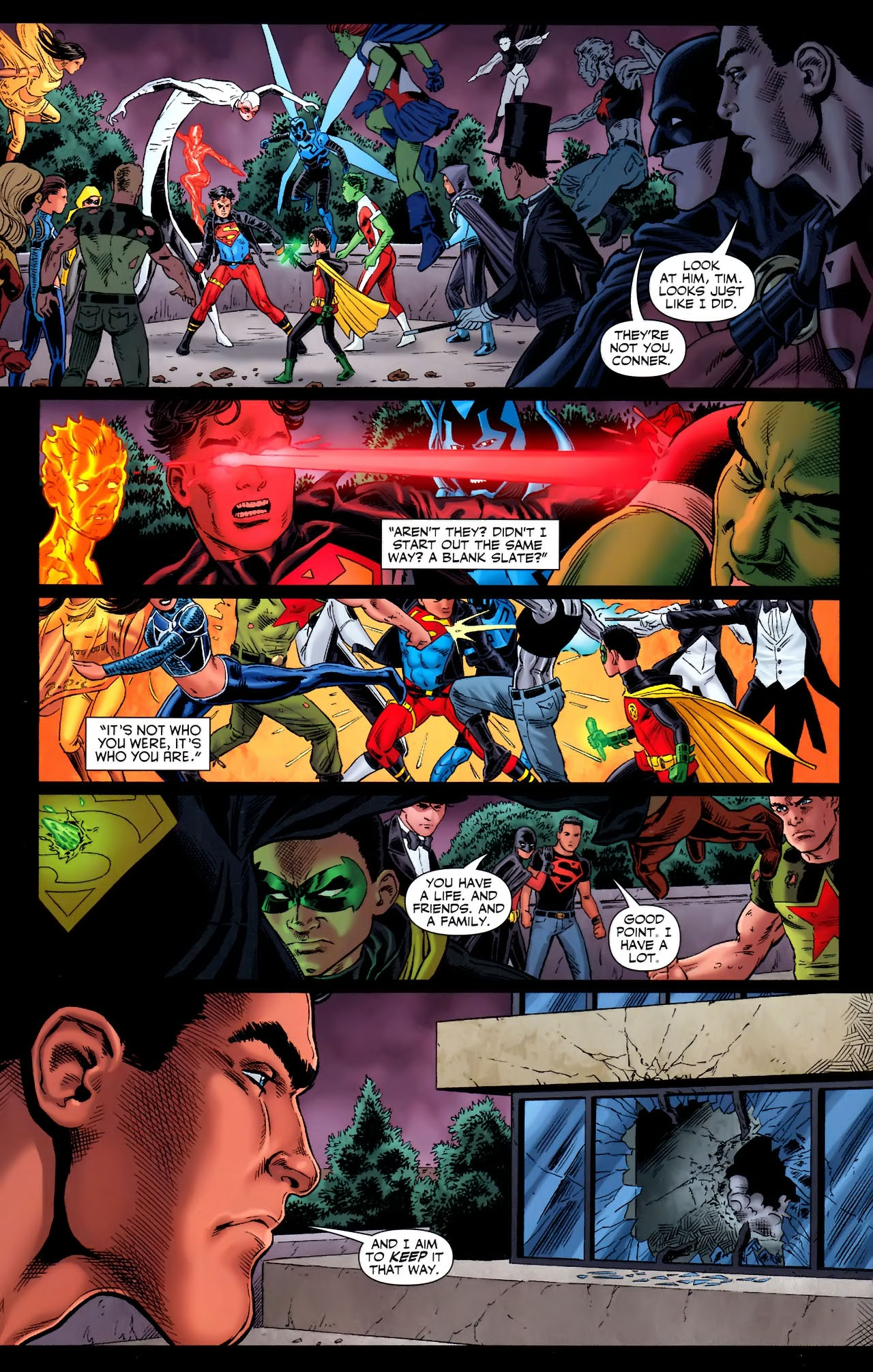 Teen Titans (2003) #100 #110 - English 19
