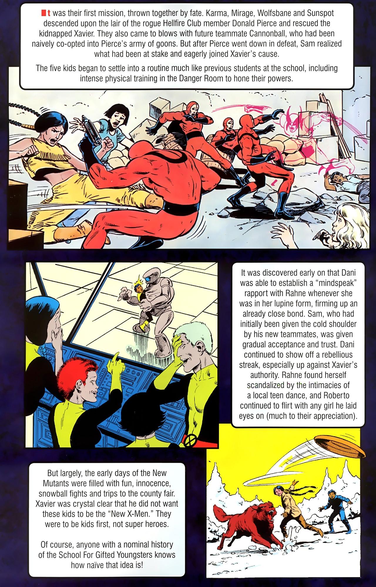 Read online New Mutants Saga comic -  Issue # Full - 5