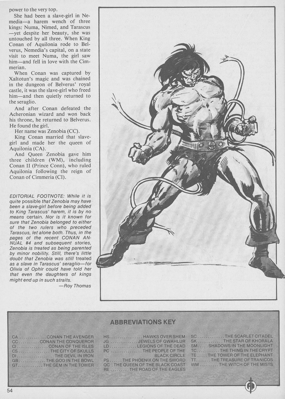 The Savage Sword Of Conan Issue #49 #50 - English 54
