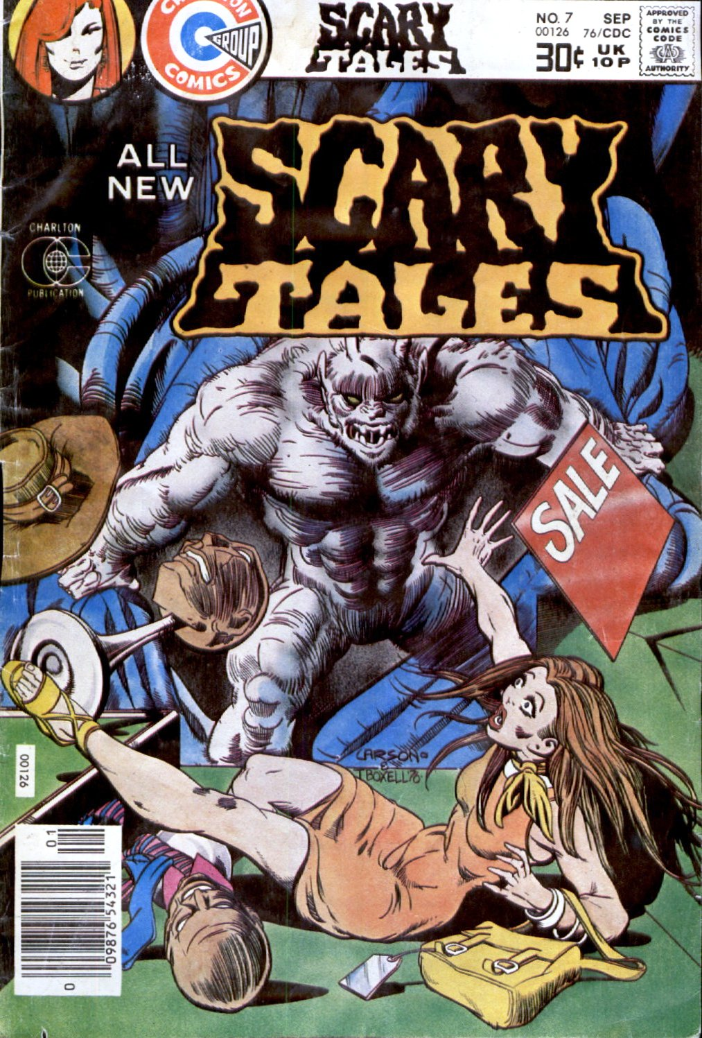Read online Scary Tales comic -  Issue #7 - 1