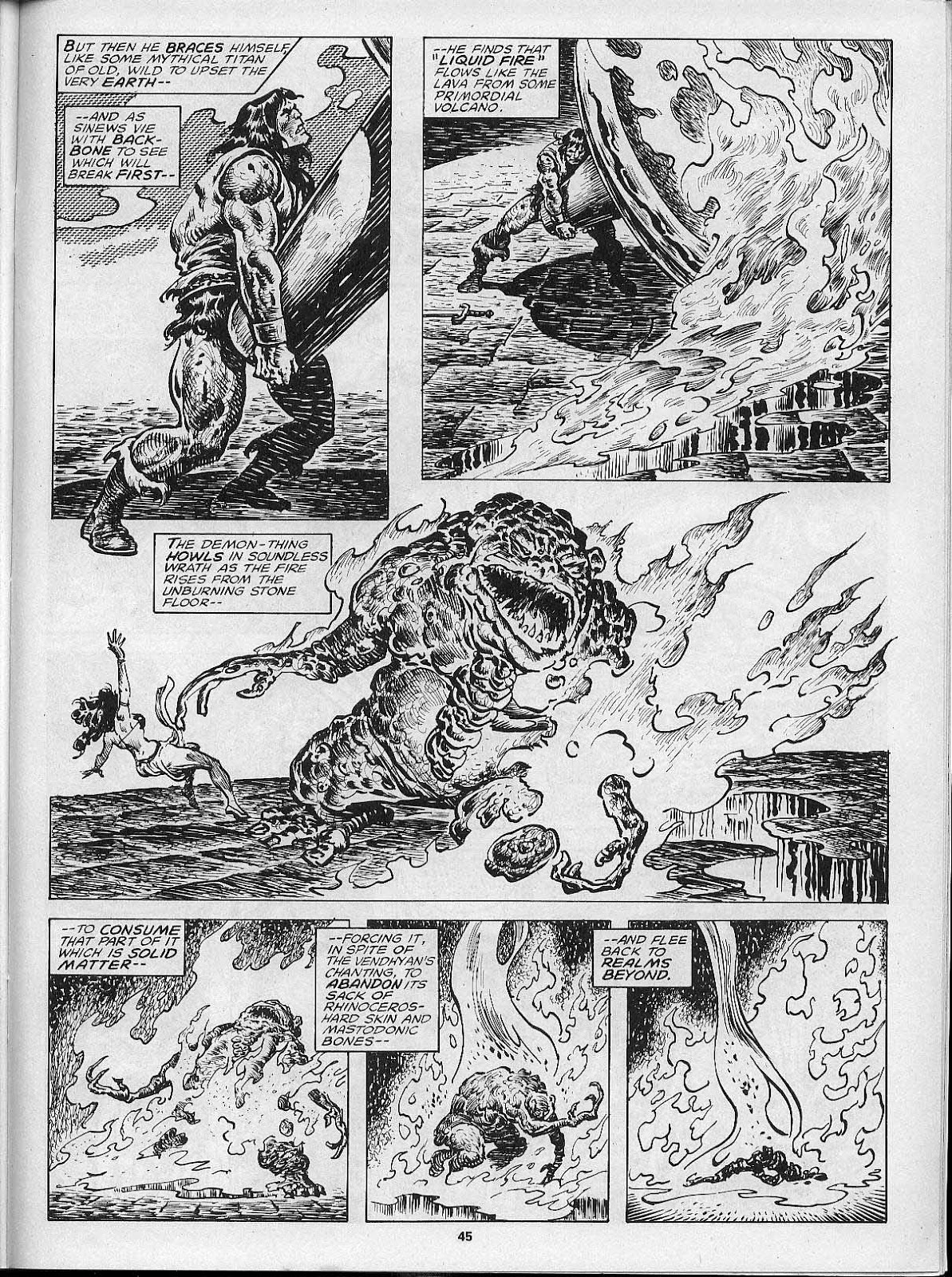 The Savage Sword Of Conan Issue #200 #201 - English 47