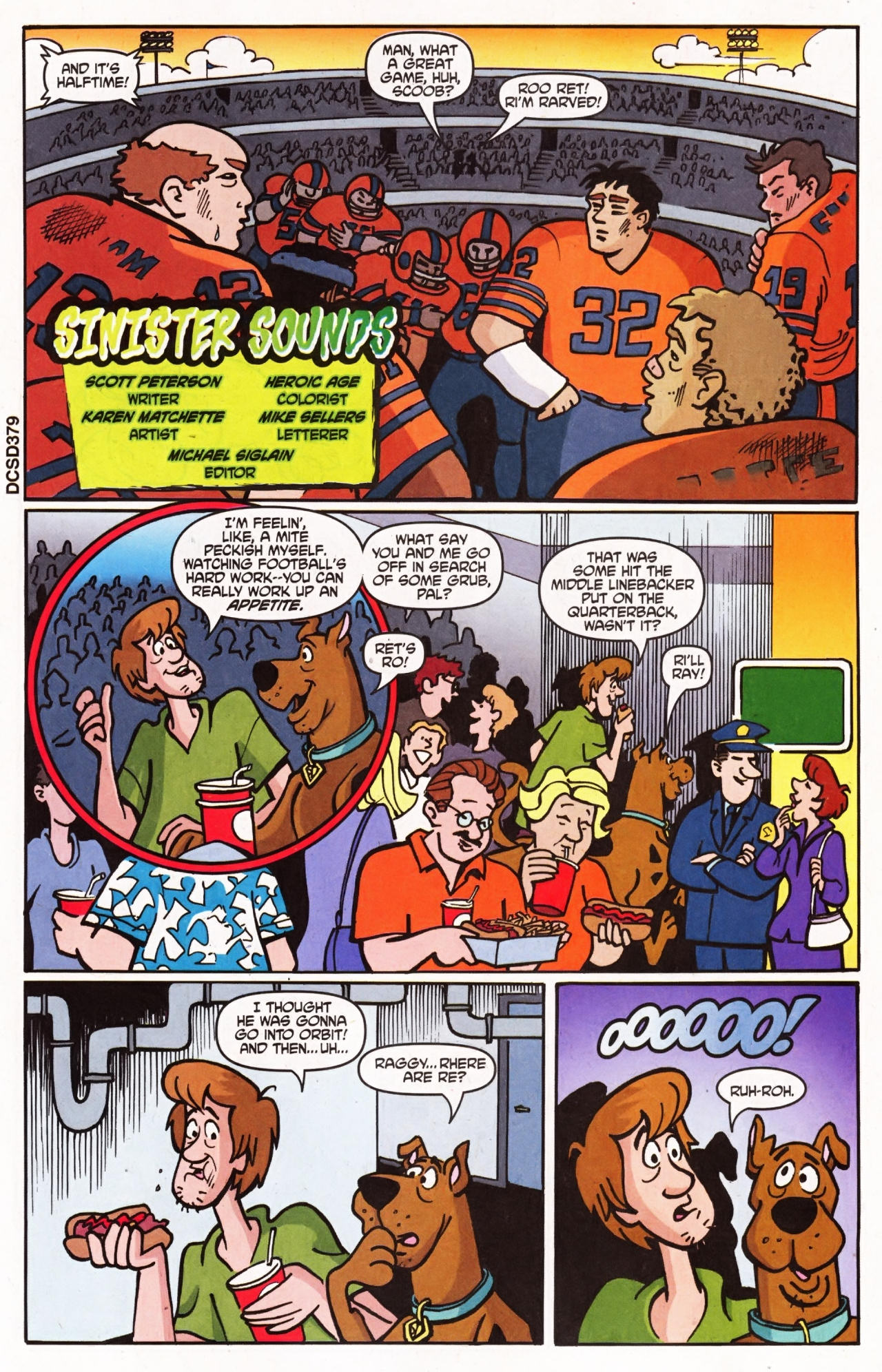 Read online Scooby-Doo (1997) comic -  Issue #136 - 10