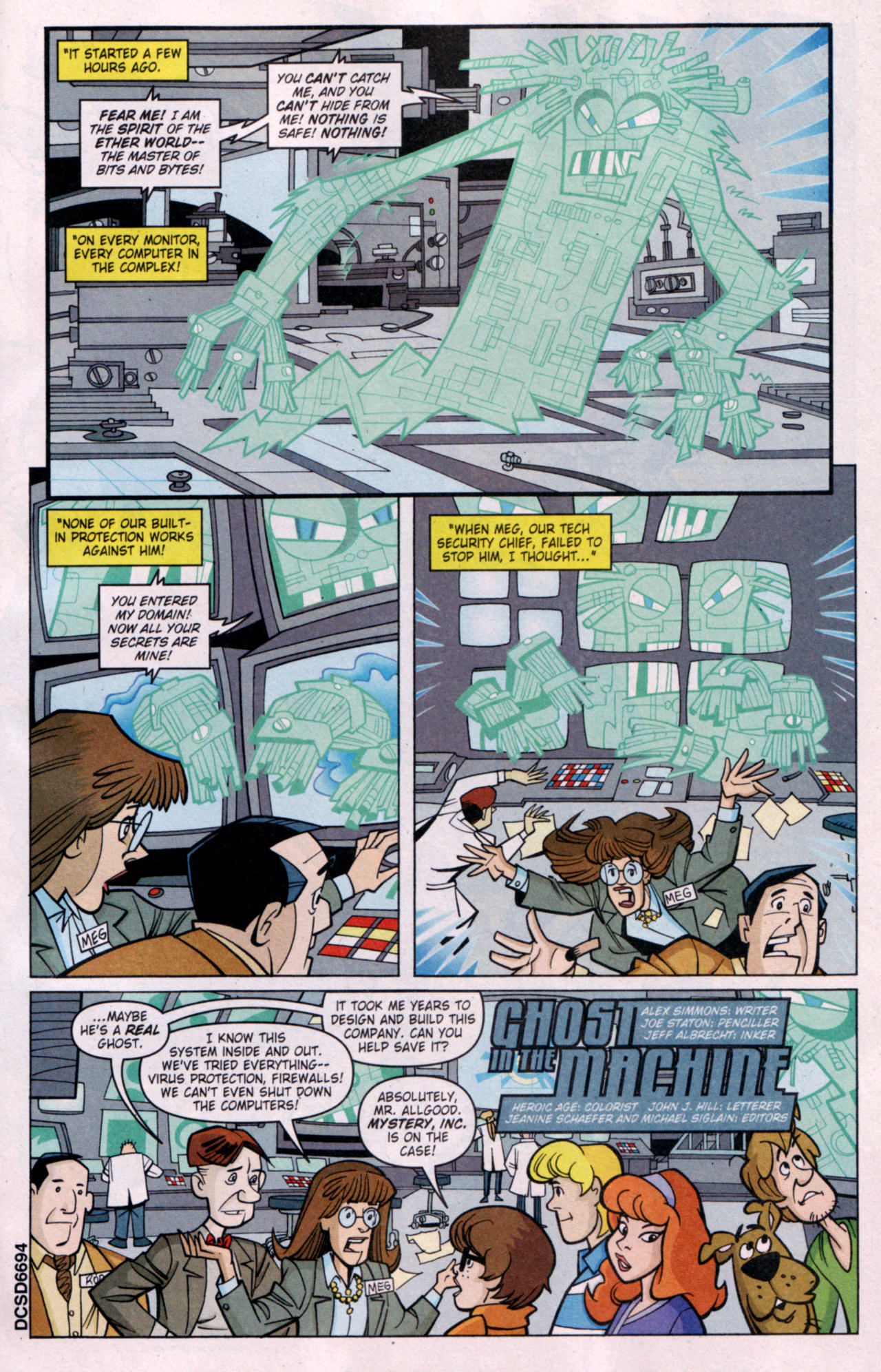 Read online Scooby-Doo (1997) comic -  Issue #119 - 10