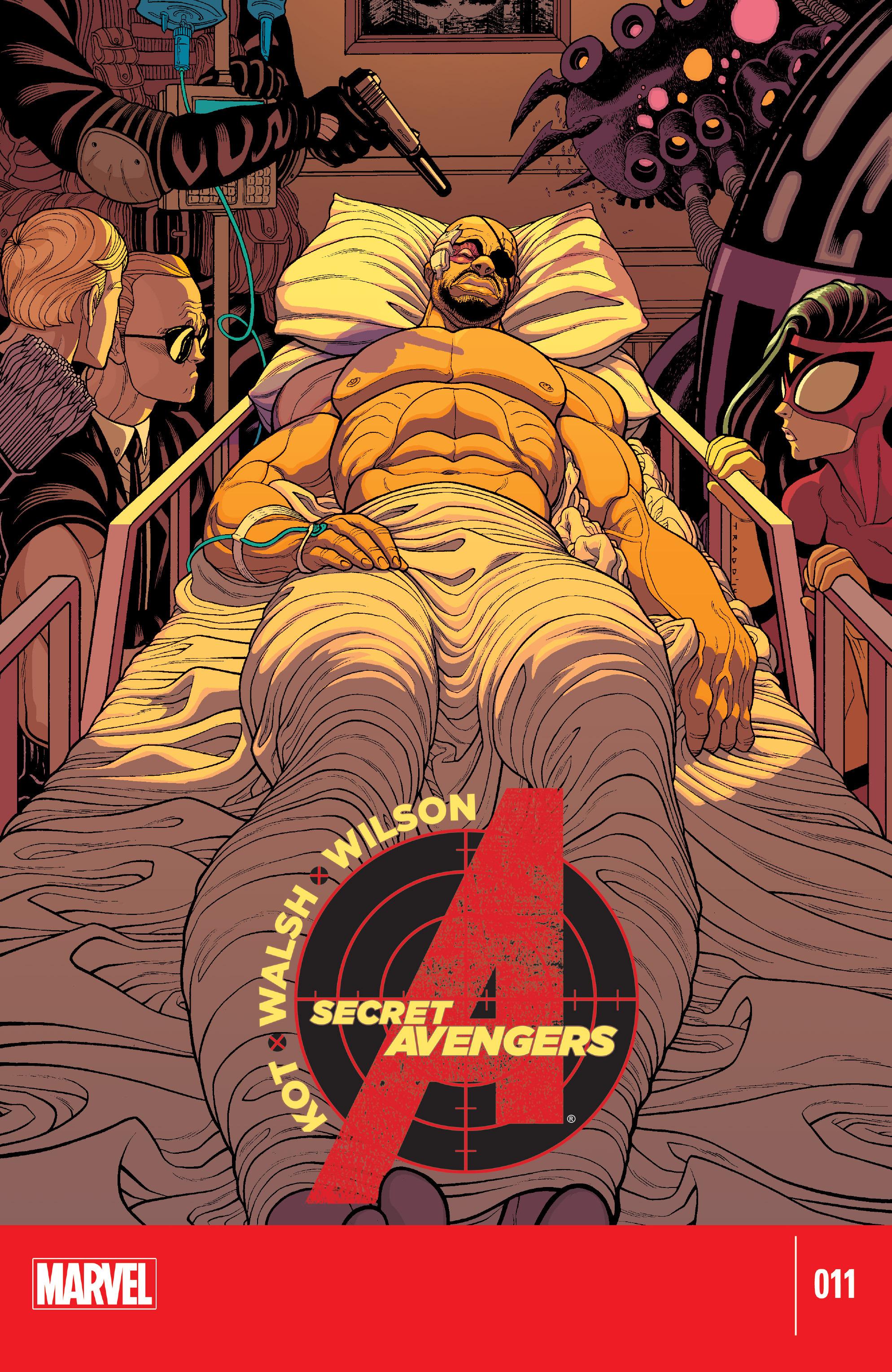 Read online Secret Avengers (2014) comic -  Issue #11 - 1