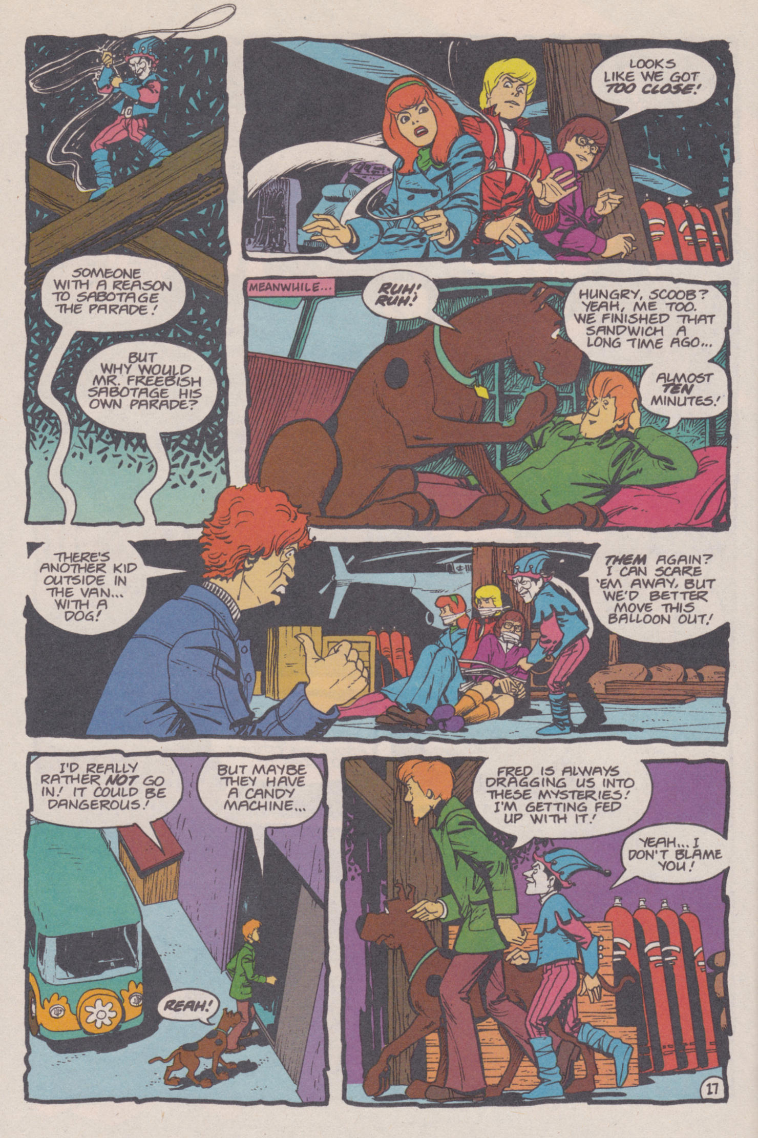 Read online Scooby-Doo (1995) comic -  Issue #14 - 18