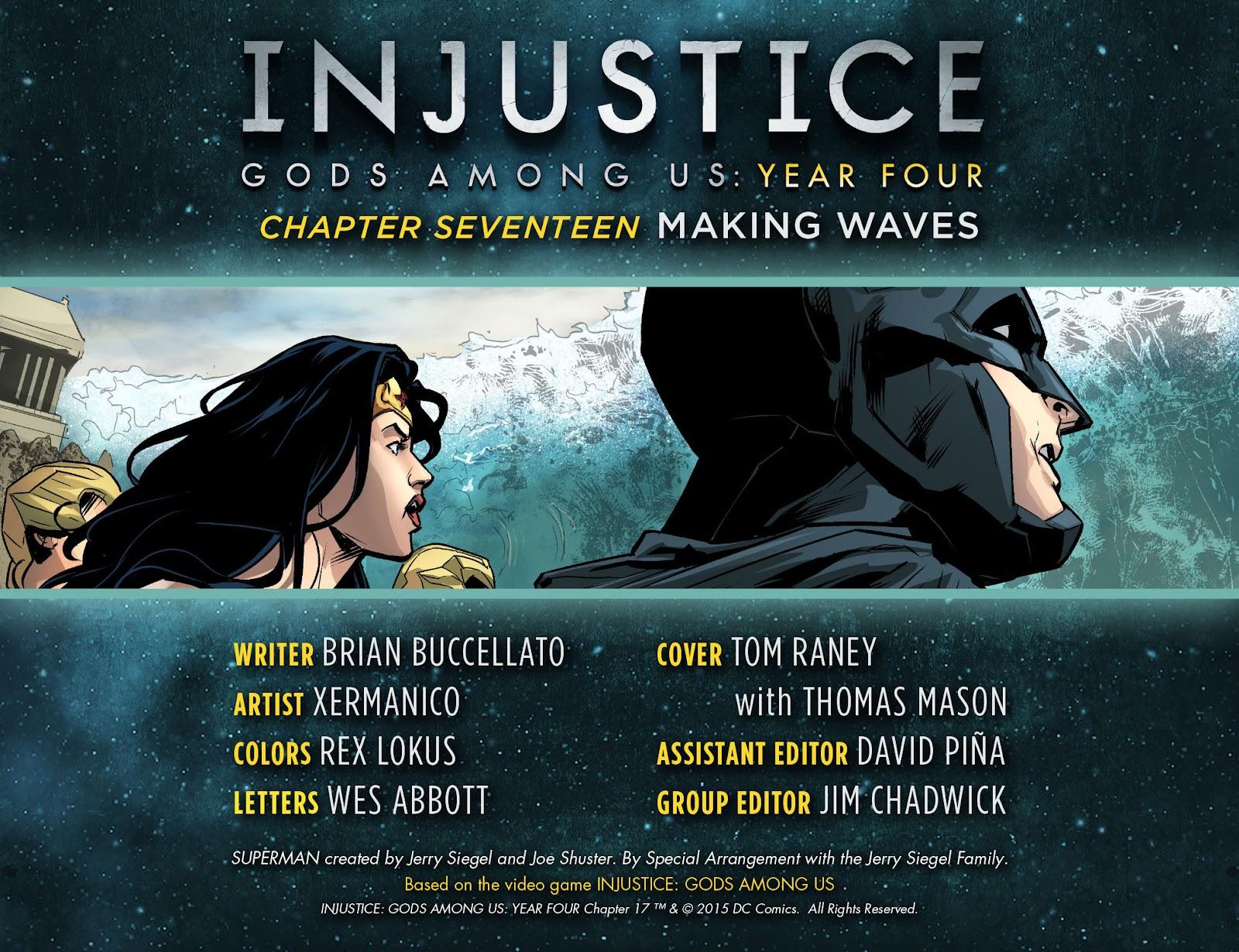 Injustice: Gods Among Us Year Four Issue #17 #18 - English 3