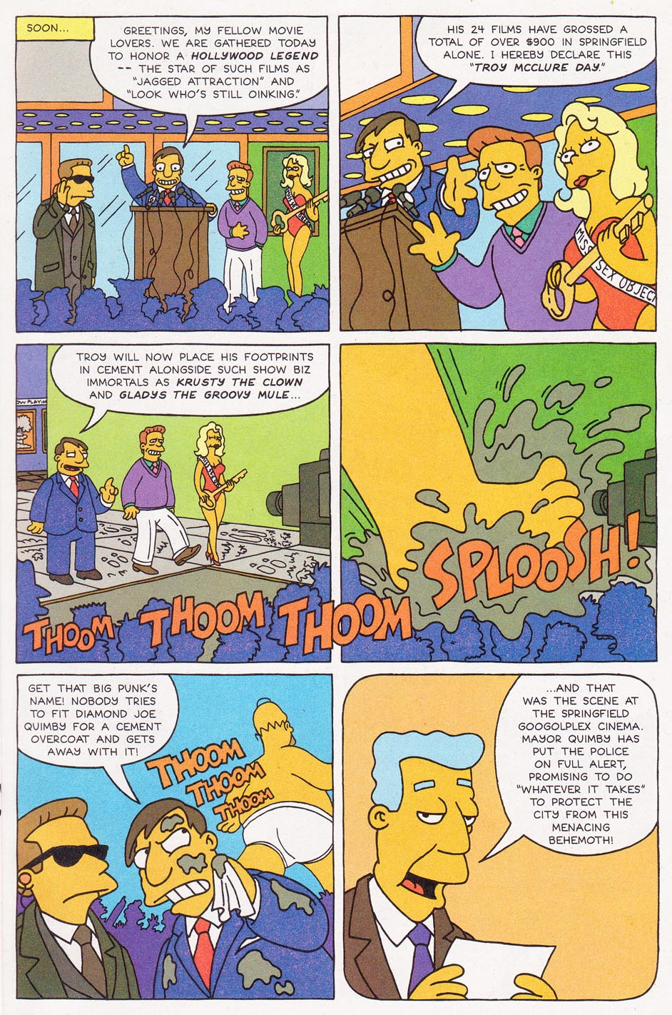 Read online Simpsons Comics comic -  Issue #1 - 13