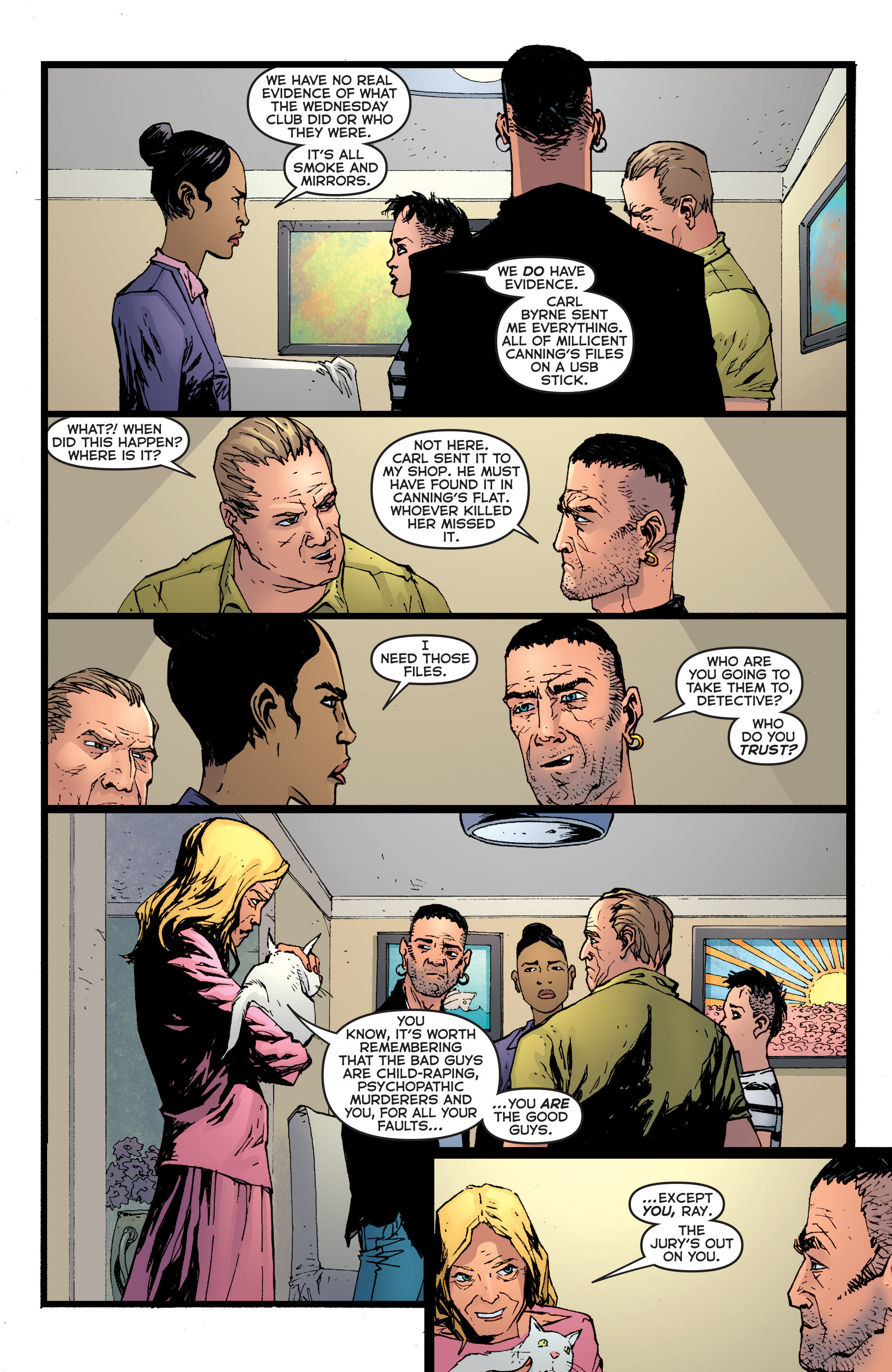 Read online Second Sight comic -  Issue #4 - 13